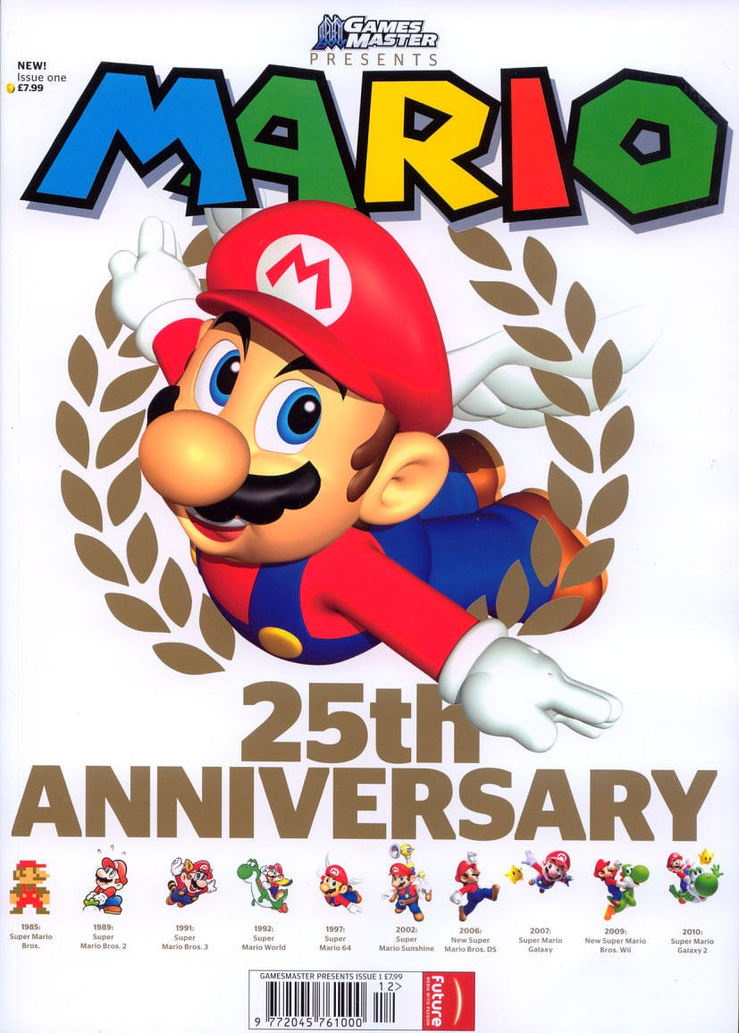 GamesMaster Presents Issue 01- Mario 25th Anniversary (2011)
