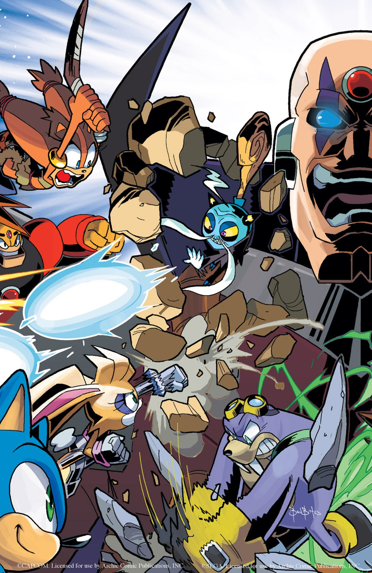 Sonic Boom 008 (July 2015) (variant 2)