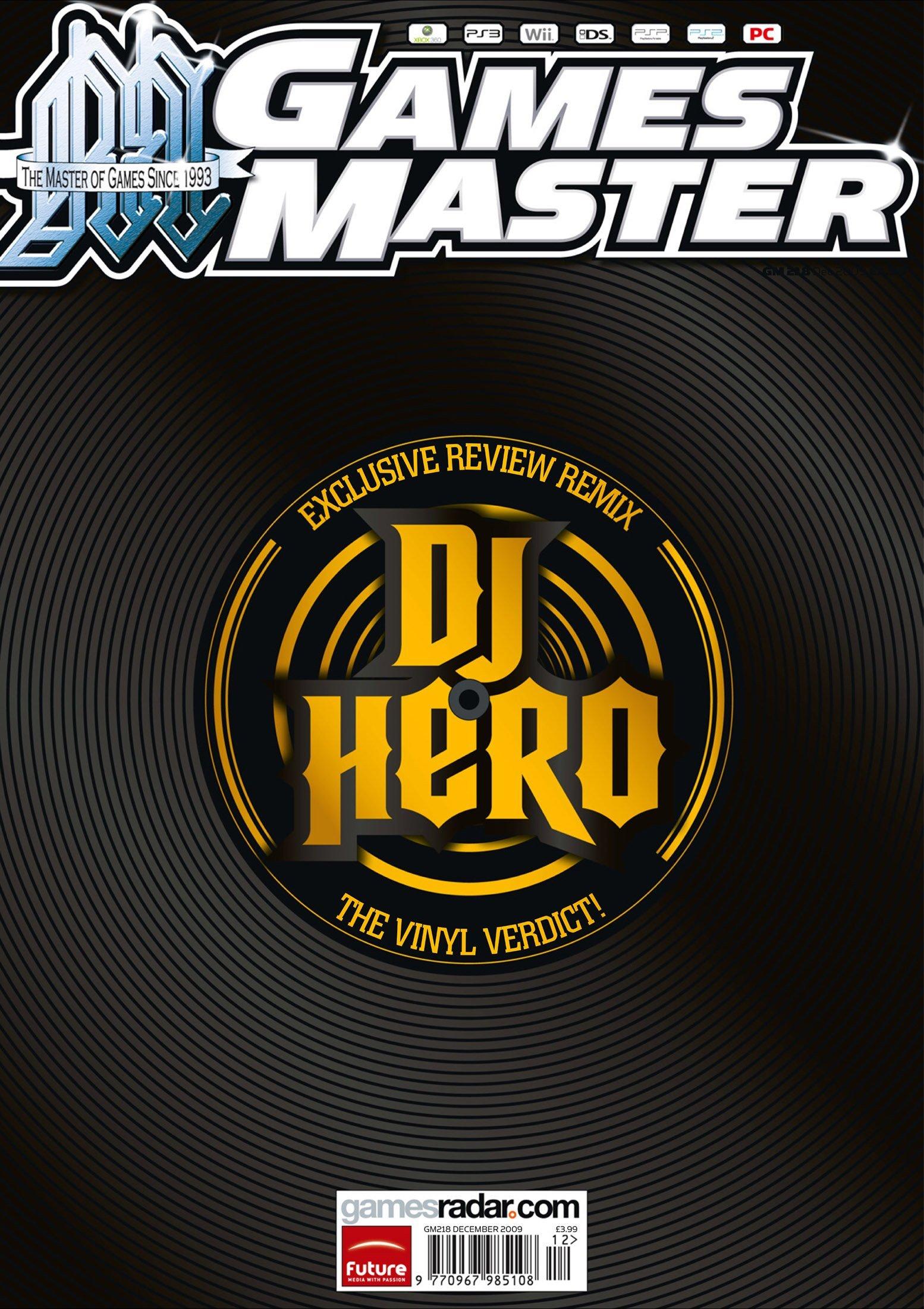 GamesMaster Issue 218 (December 2009)