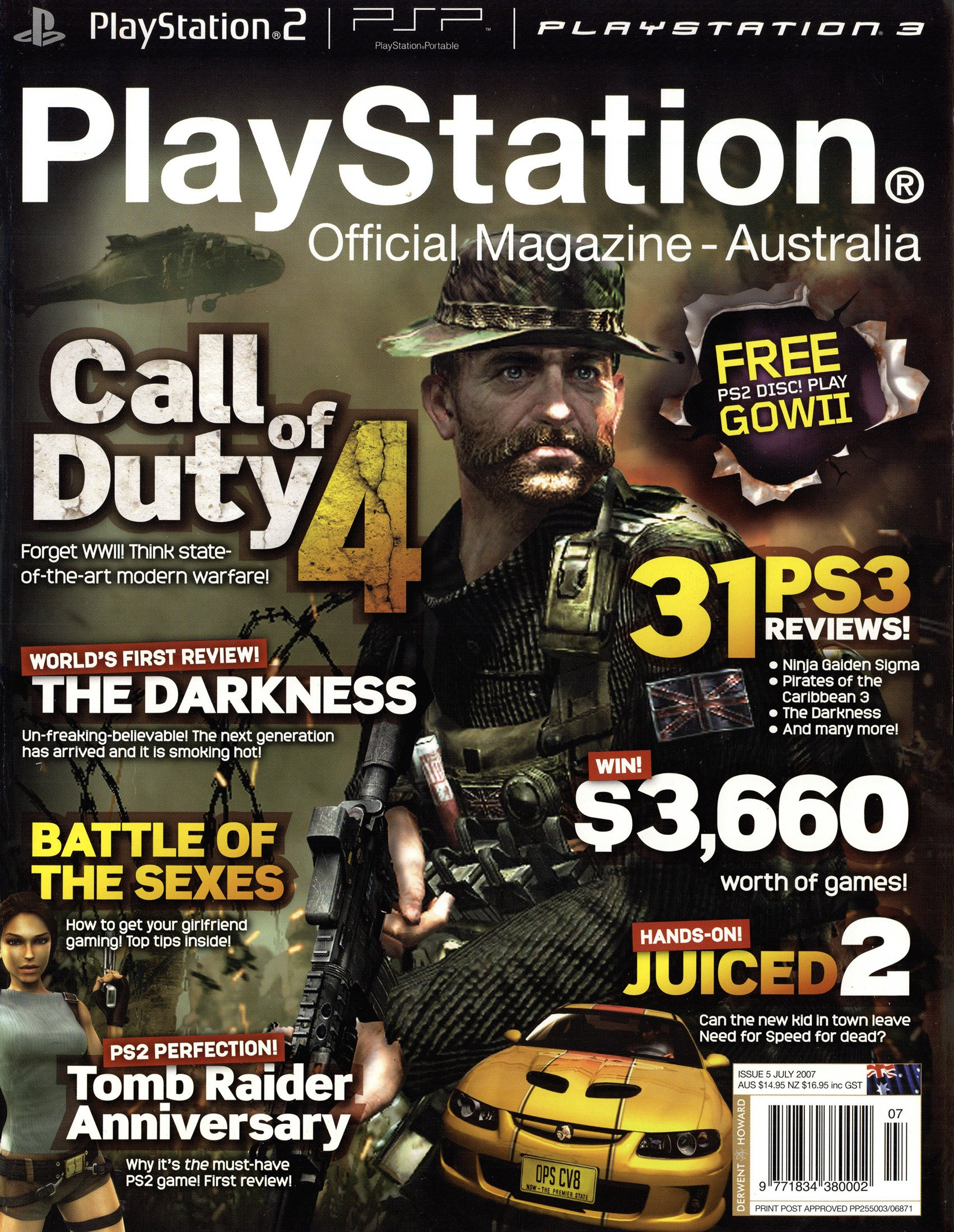 PlayStation Official Magazine Issue 005 (July 2007)