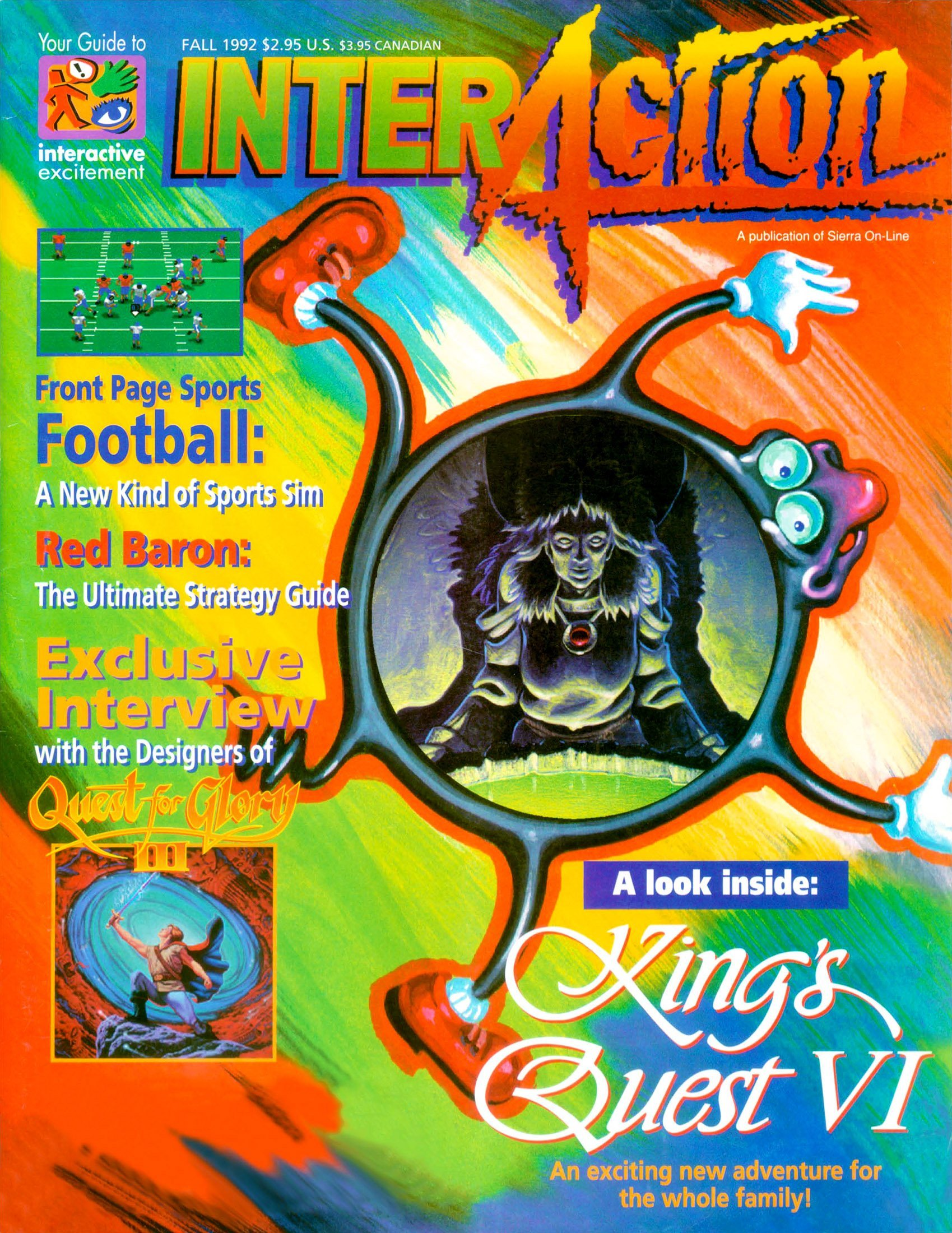 InterAction Issue 15 (Volume 5 Number 3) Fall 1992