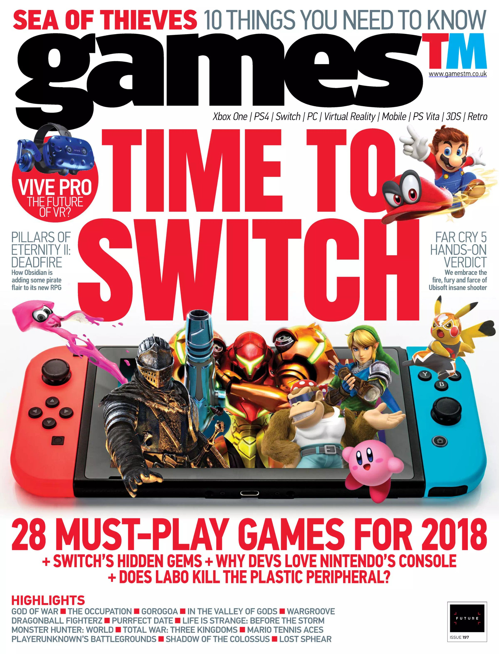 Games TM Issue 197 (February 2018)