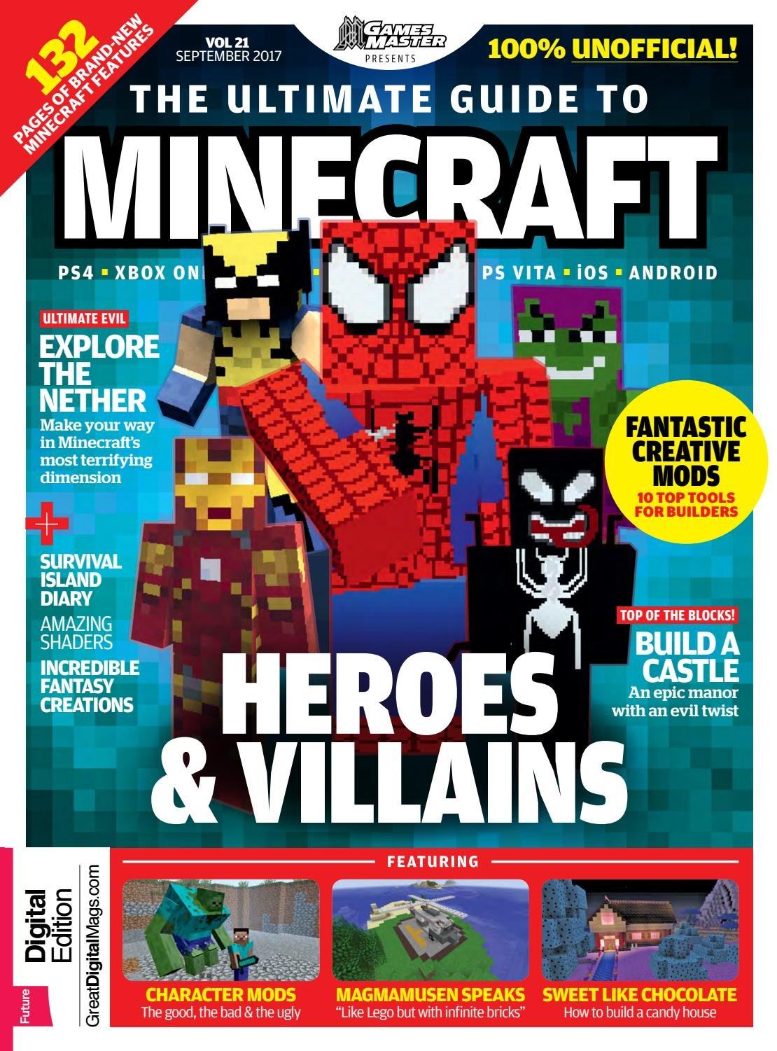 GamesMaster Presents: The Ultimate Guide to Minecraft Vol.21 (September 2017)