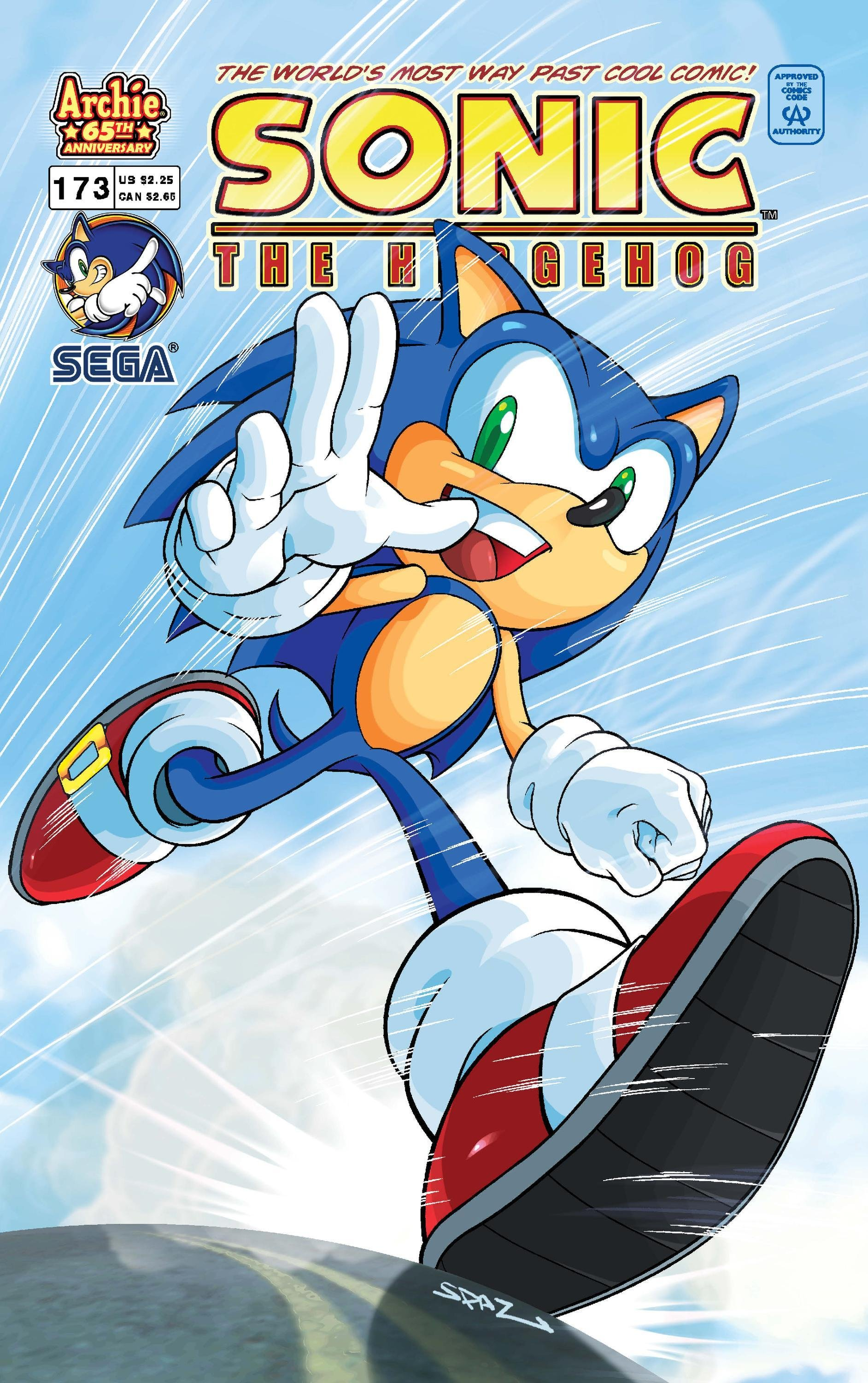 Sonic the Hedgehog 173 (May 2007)