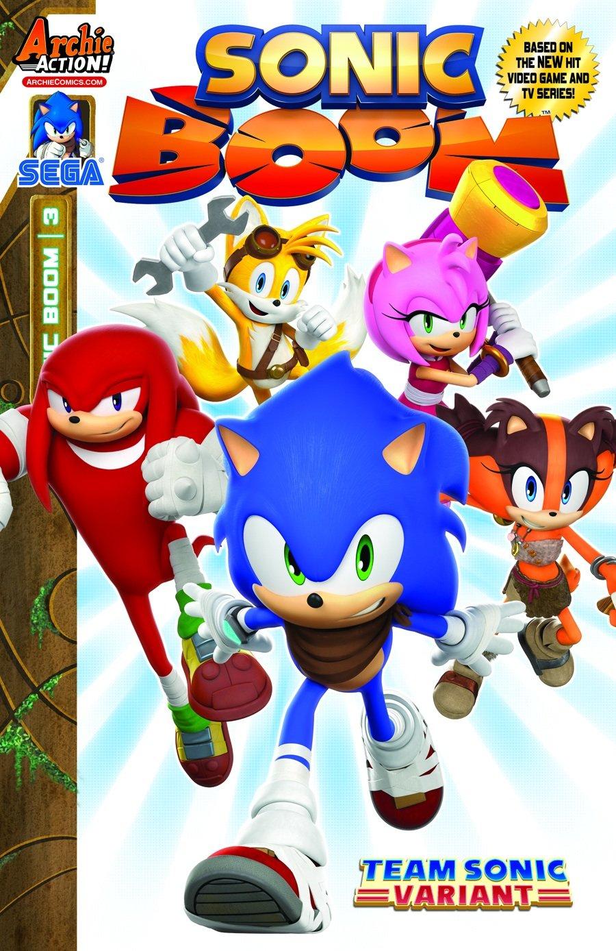 Sonic Boom 003 (February 2015) (Team Sonic variant)