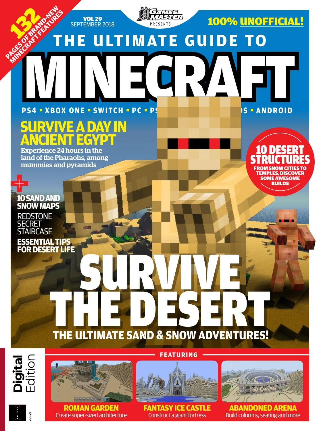 GamesMaster Presents: The Ultimate Guide to Minecraft Vol.29 (September 2018)