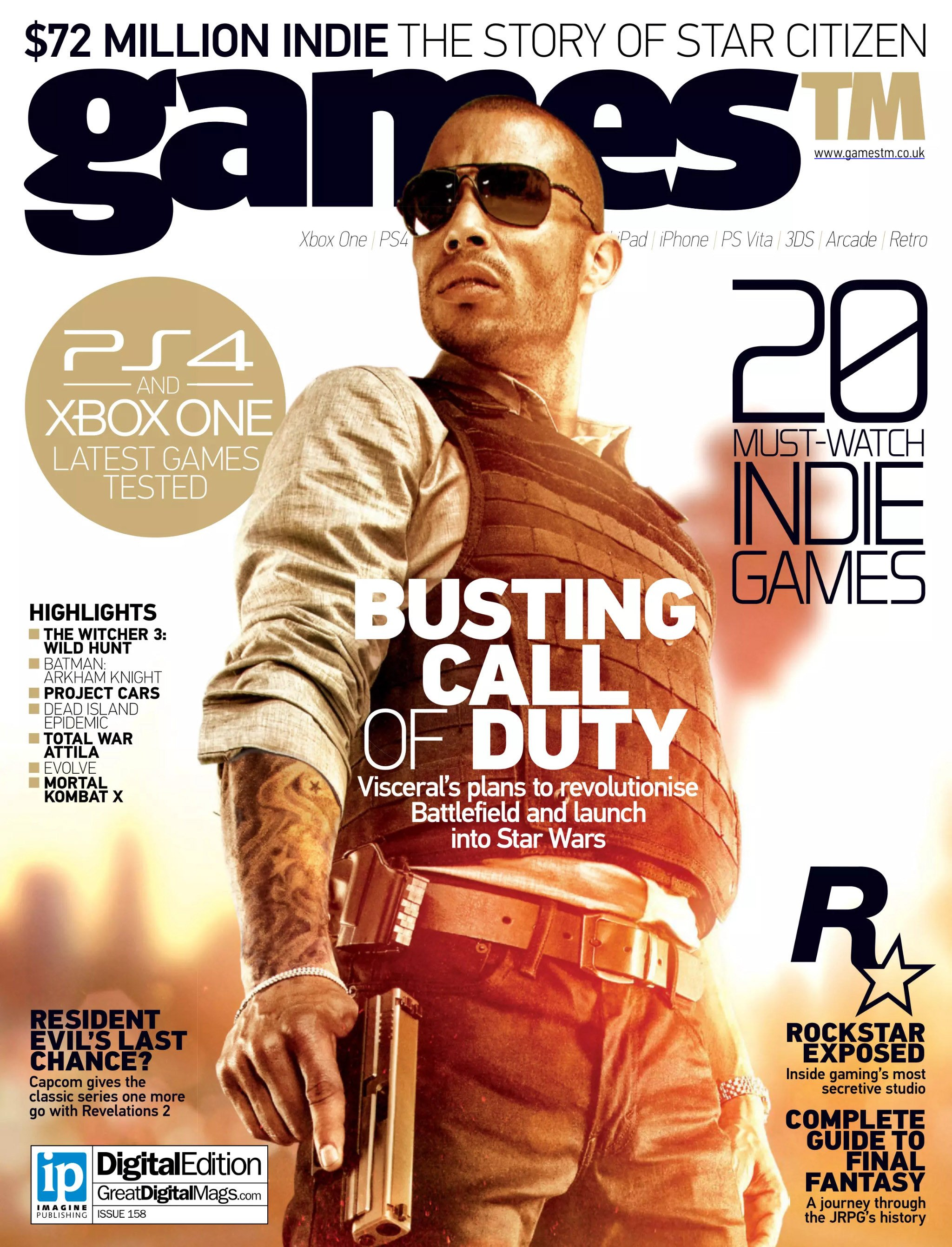 Games TM Issue 158 (February 2015)