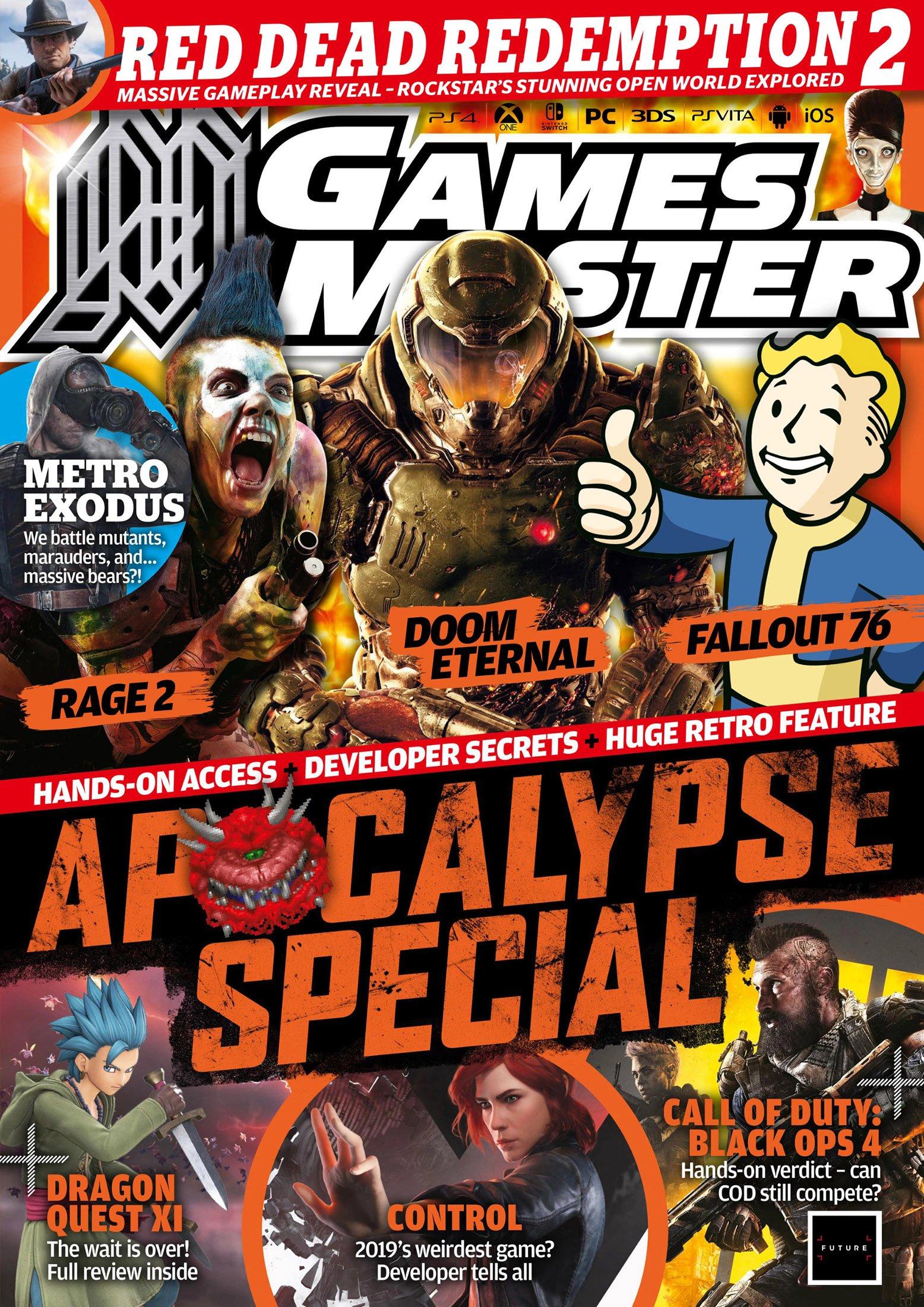GamesMaster Issue 334 (October 2018)
