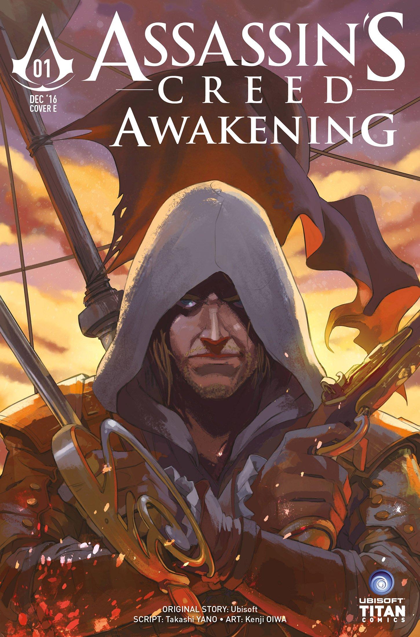 Assassin's Creed - Awakening 01 (December 2016) (cover e)