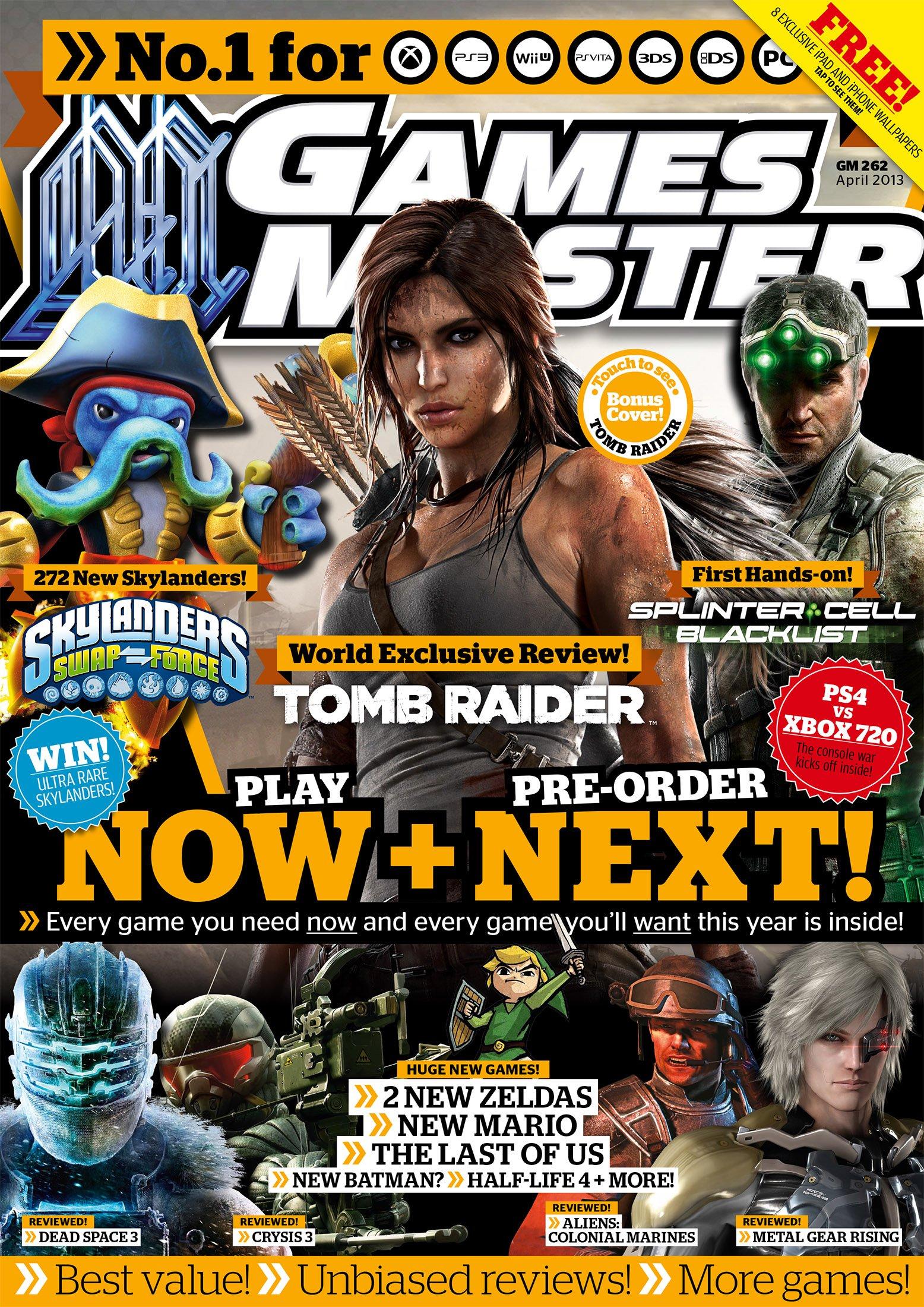 GamesMaster Issue 262 (April 2013) (digital edition)