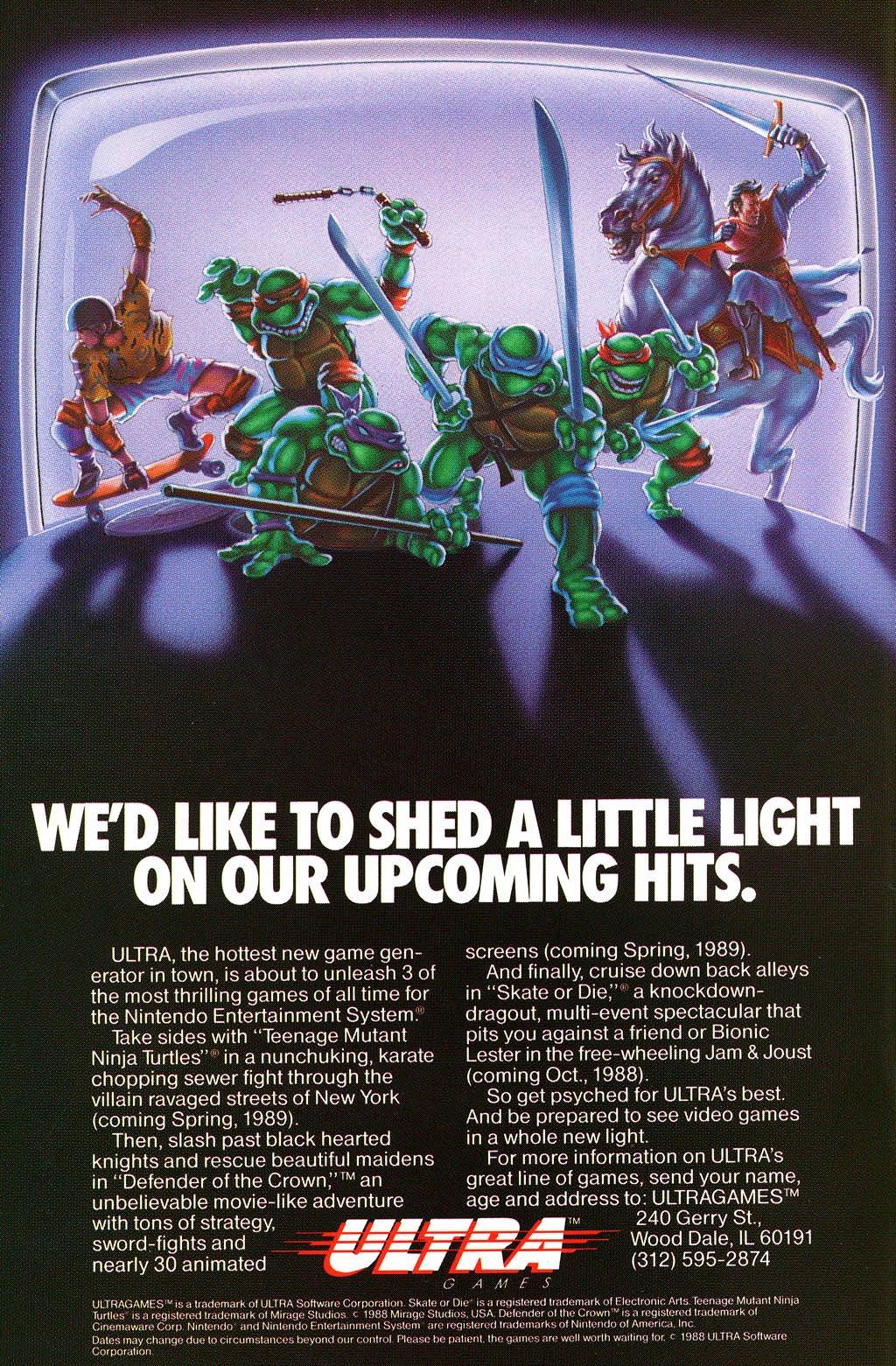 Ultra Games multi-ad