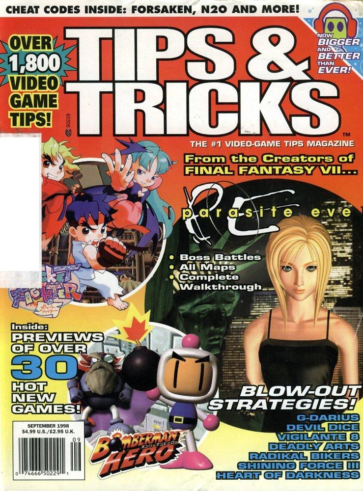 Tips & Tricks Issue 043 September 1998
