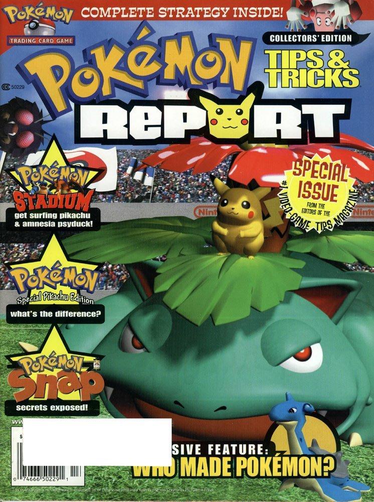 Pokemon Report Collectors Edition (2000)