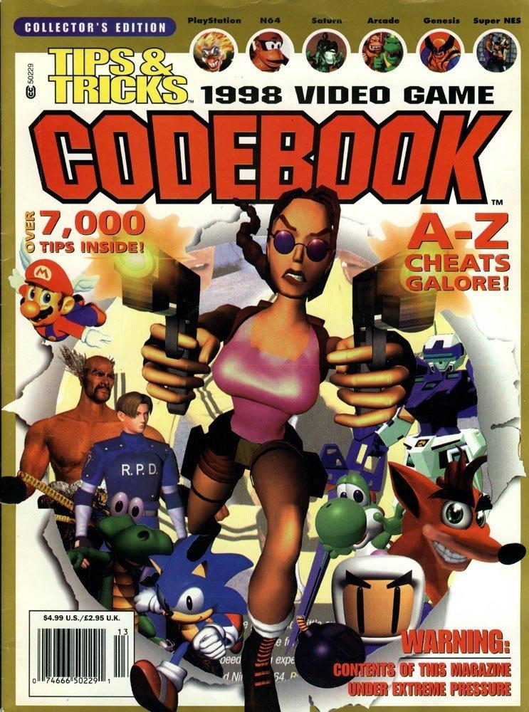 Tips & Tricks Video Game Codebook - 1998