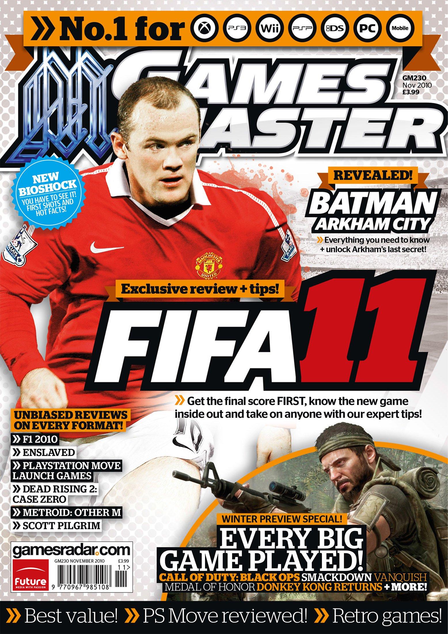 GamesMaster Issue 230 (November 2010)