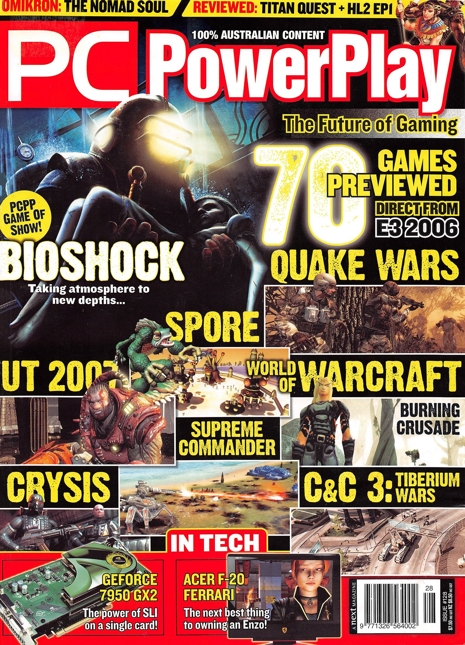 PC PowerPlay 128 (August 2006)