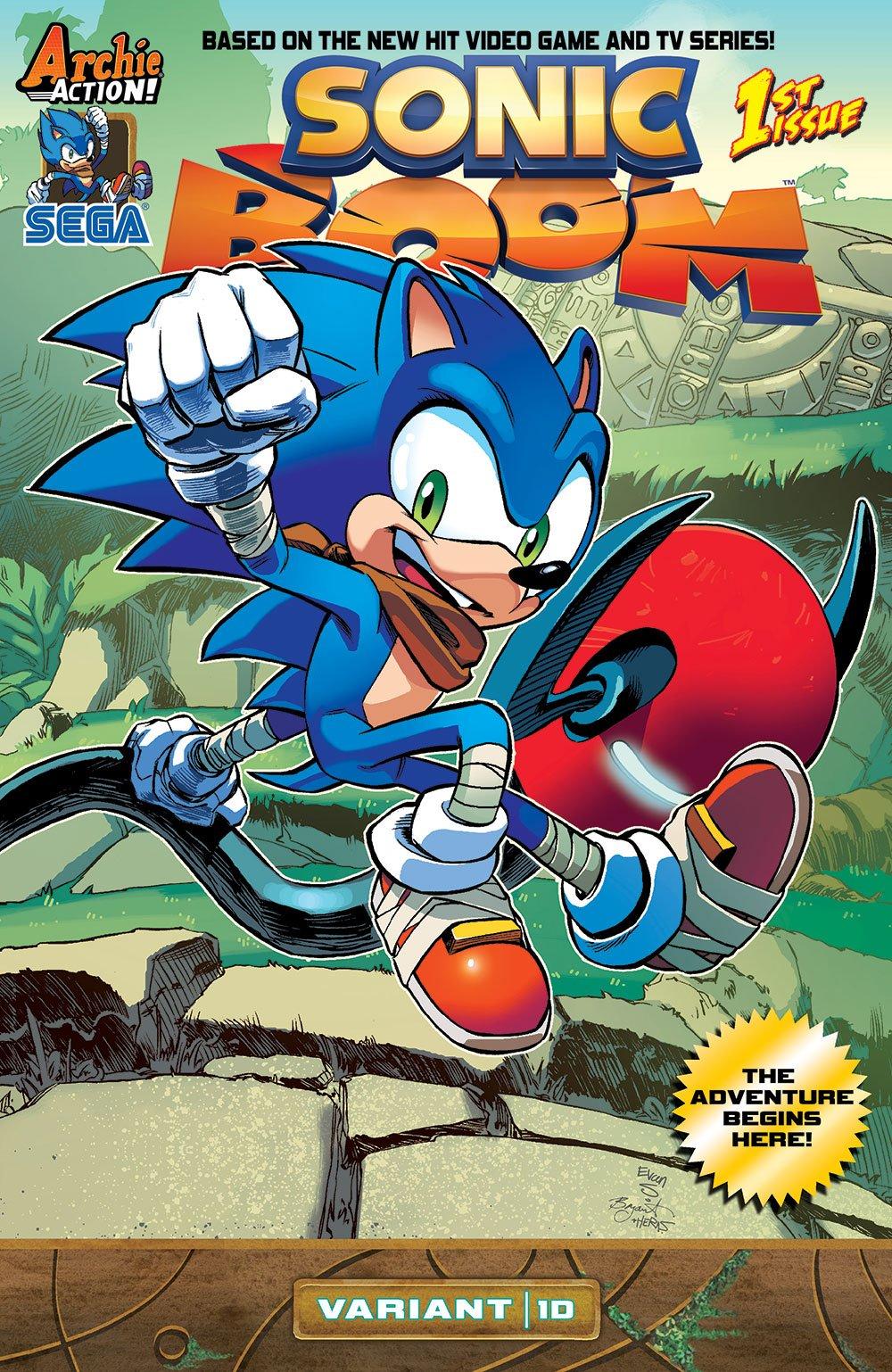 Sonic Boom 001 (December 2014) (variant 1D)