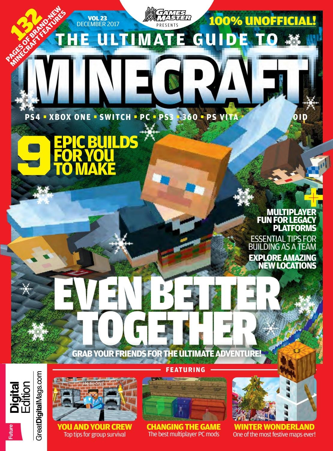 GamesMaster Presents: The Ultimate Guide to Minecraft Vol.23 (December 2017)