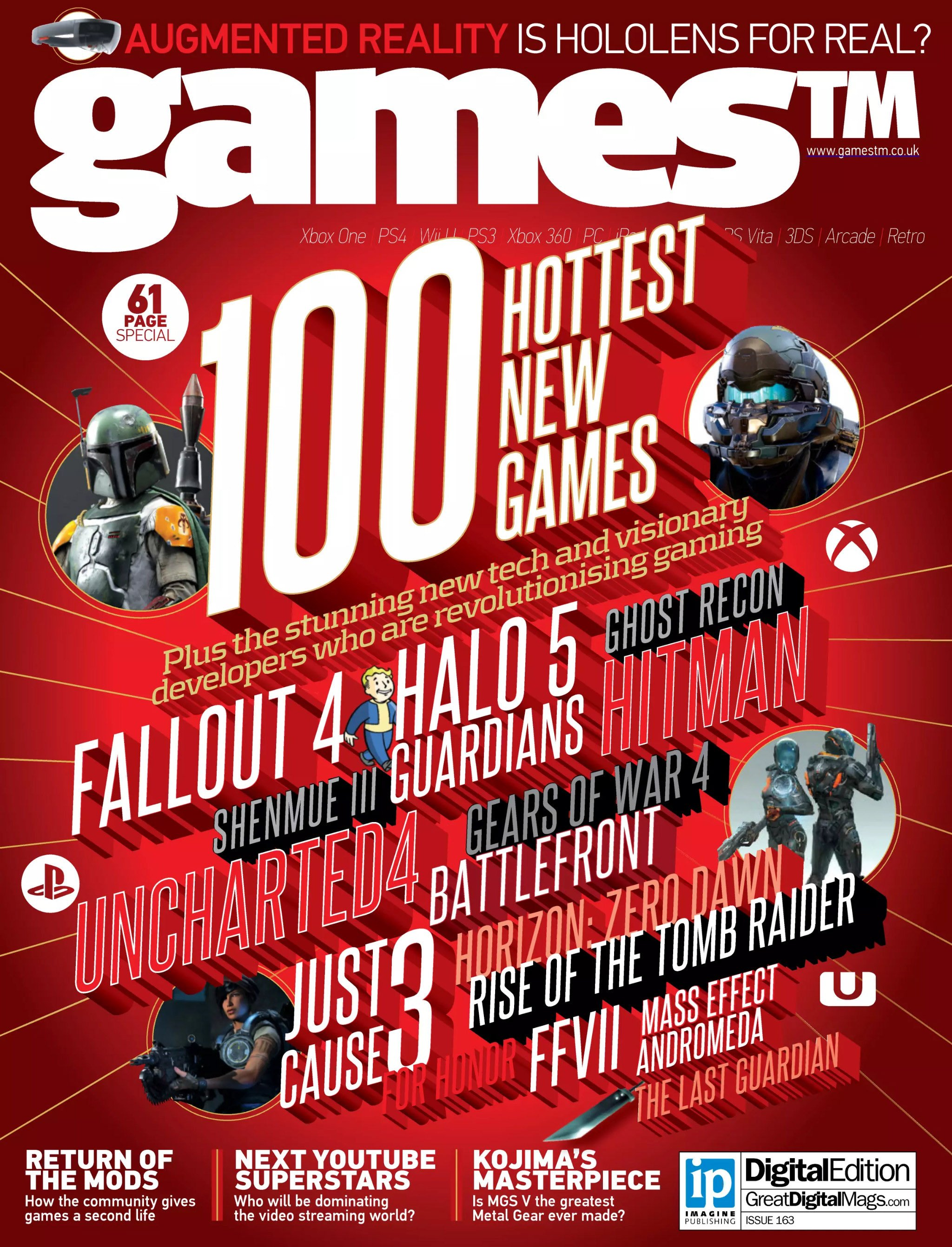 Games TM Issue 163 (July 2015)