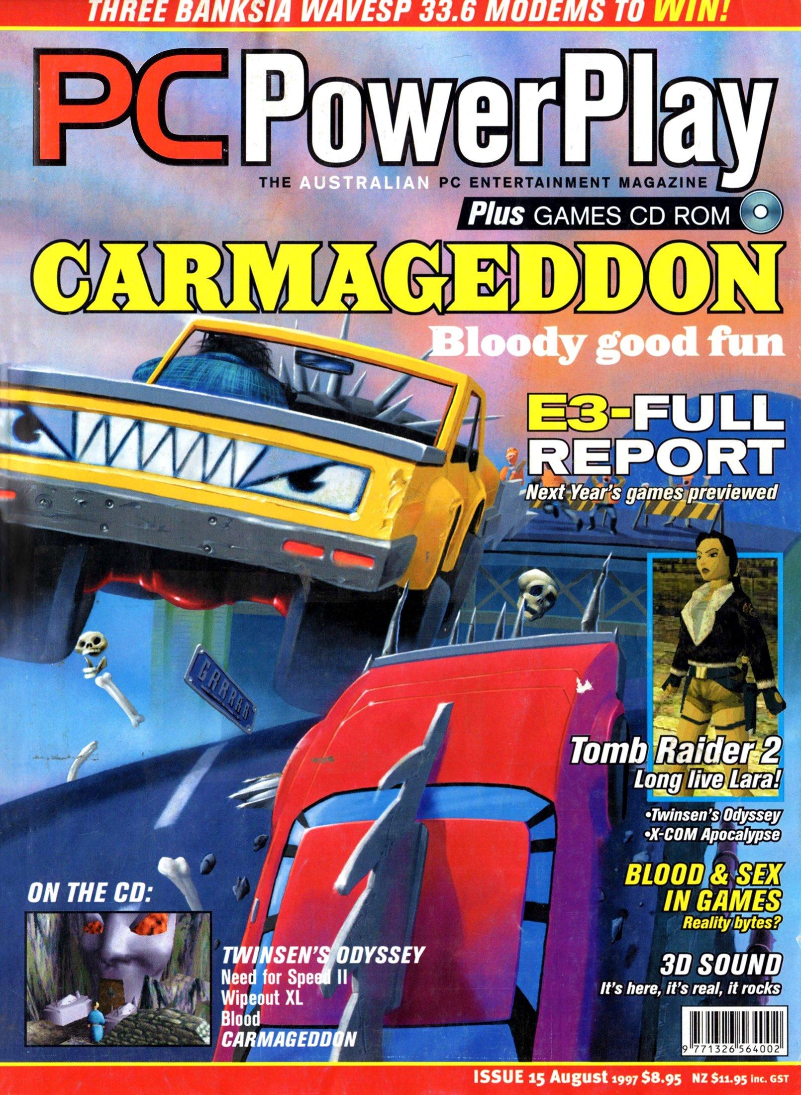 PC PowerPlay 015 (August 1997)