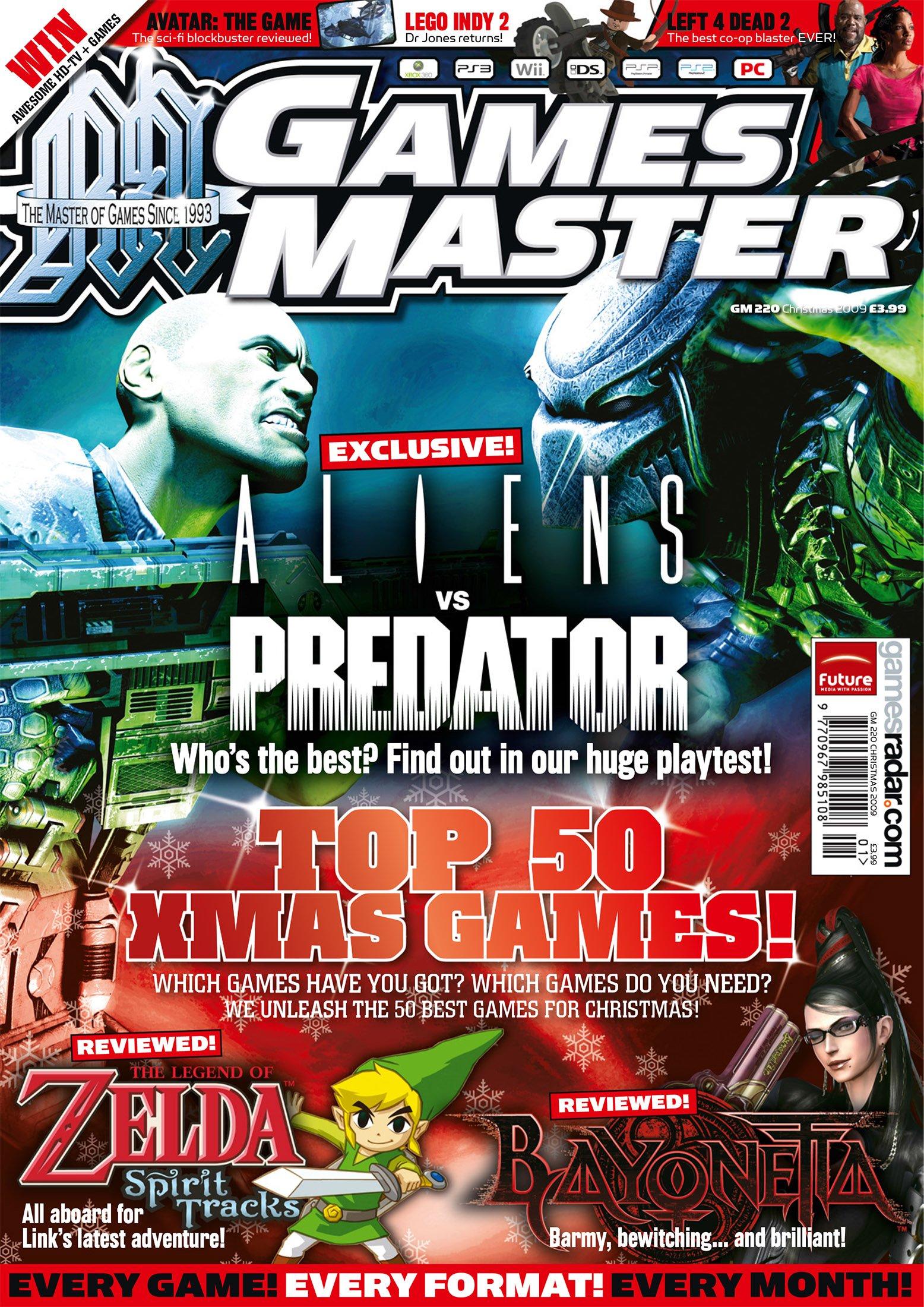 GamesMaster Issue 220 (January 2010)