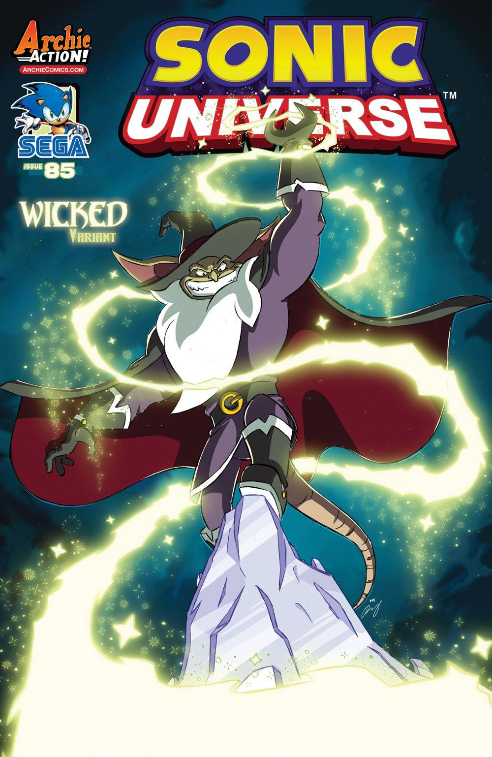 Sonic Universe 085 (July 2016) (Wicked variant)
