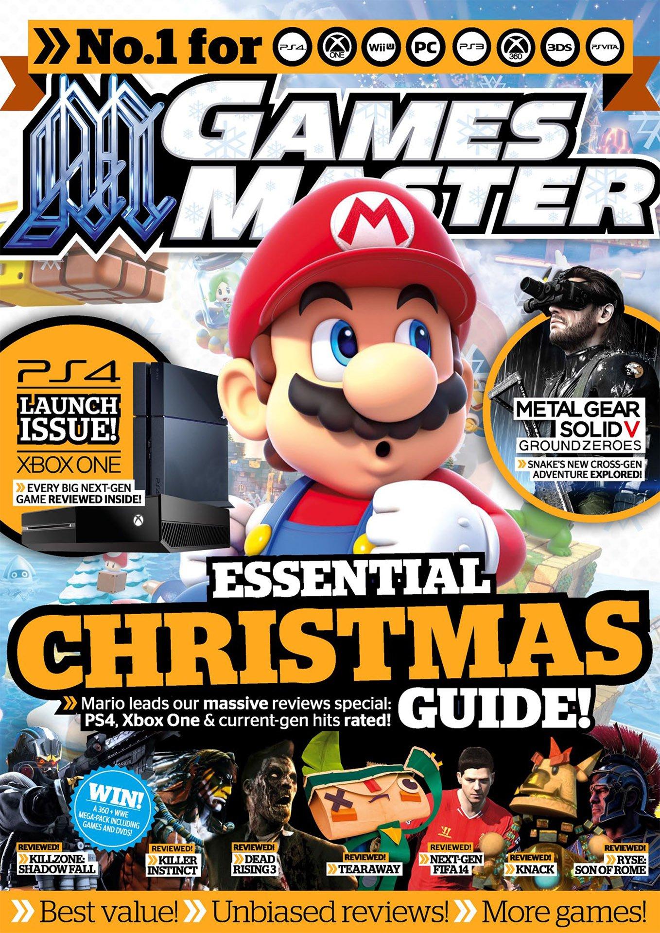 GamesMaster Issue 272 (January 2014) (digital edition)