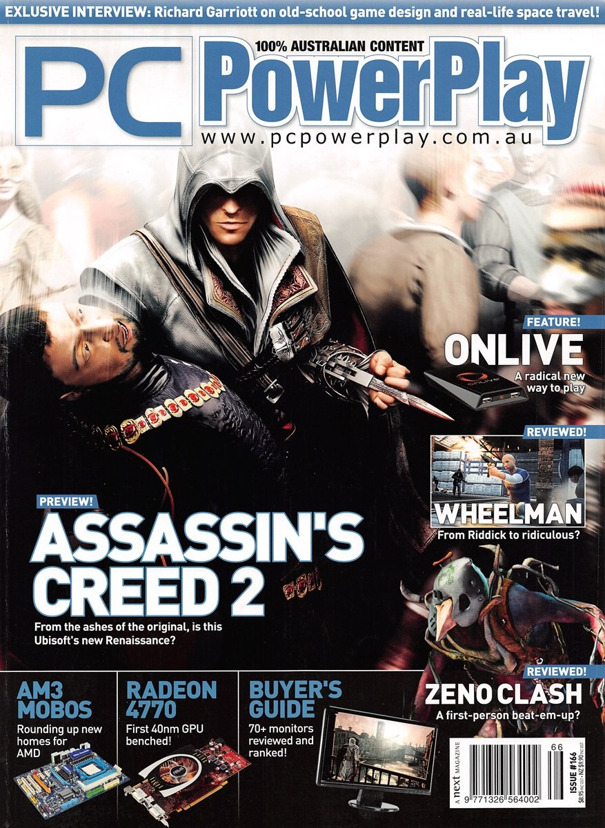 PC PowerPlay 166 (July 2009)
