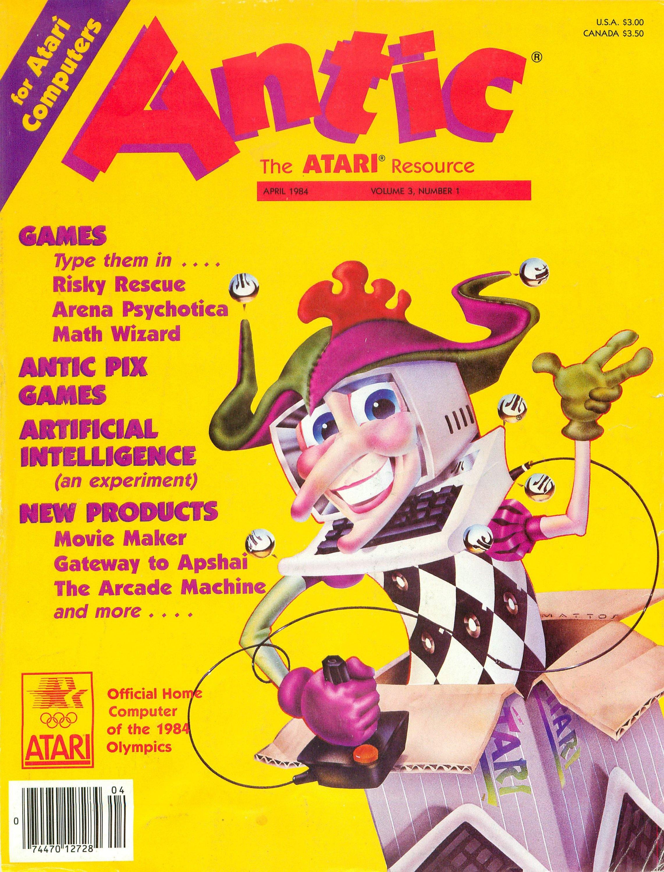 Antic Issue 019 April 1984