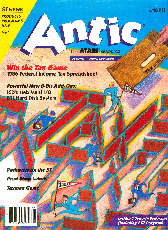 Antic Issue 054 April 1987