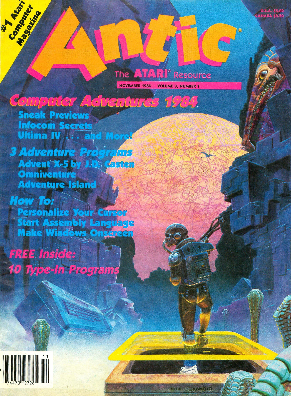 Antic Issue 025 November 1984