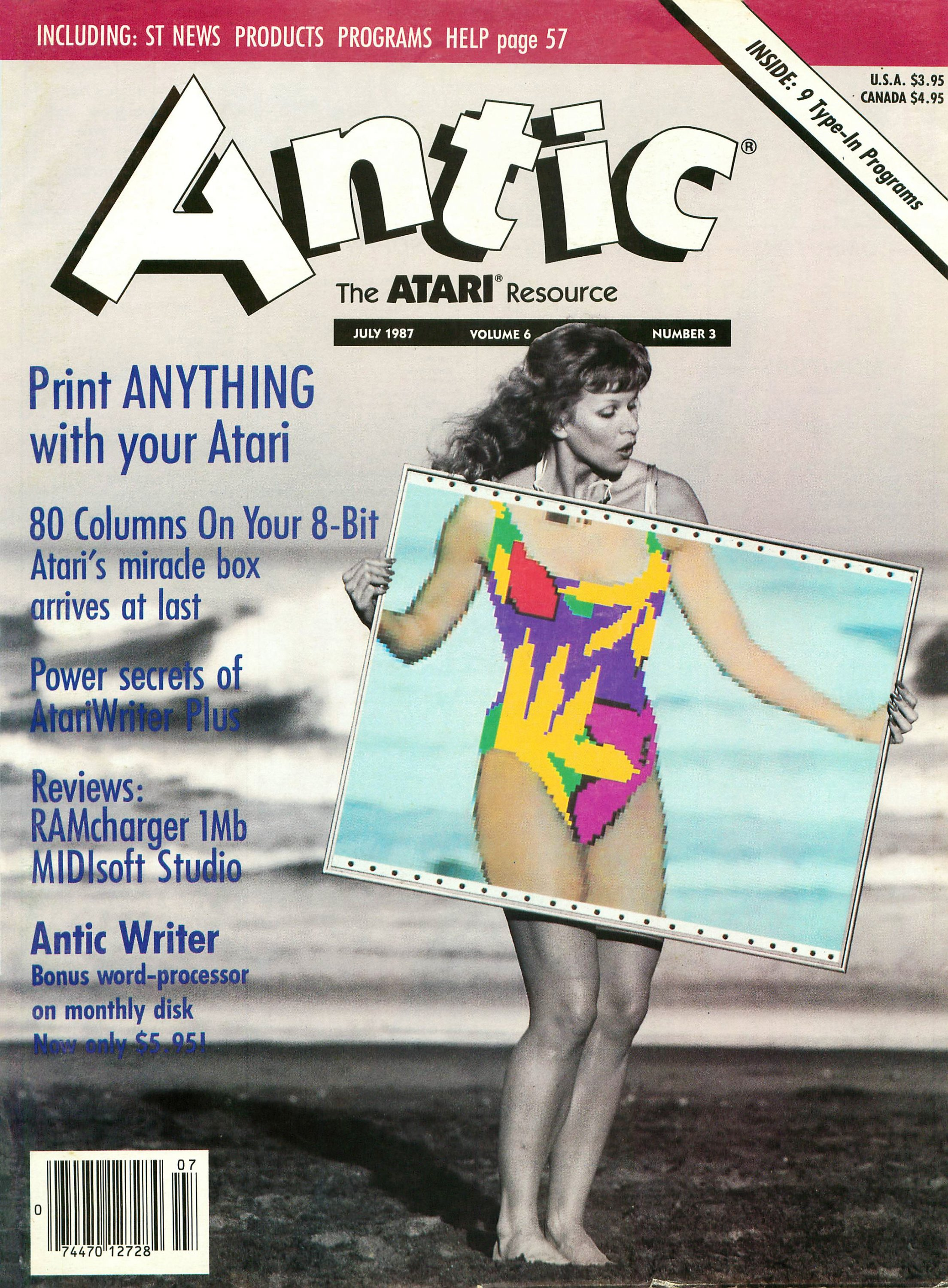 Antic Issue 057 July 1987