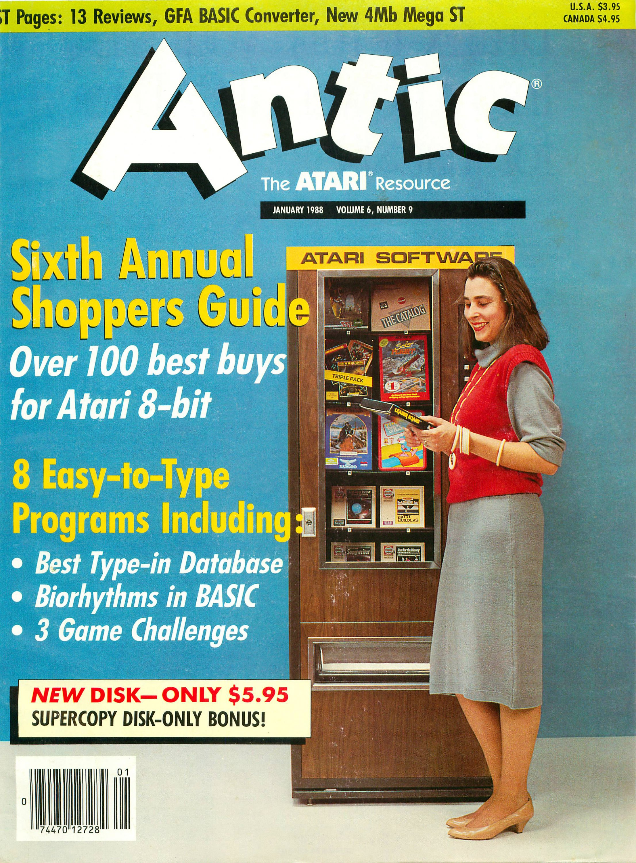 Antic Issue 063 January 1988