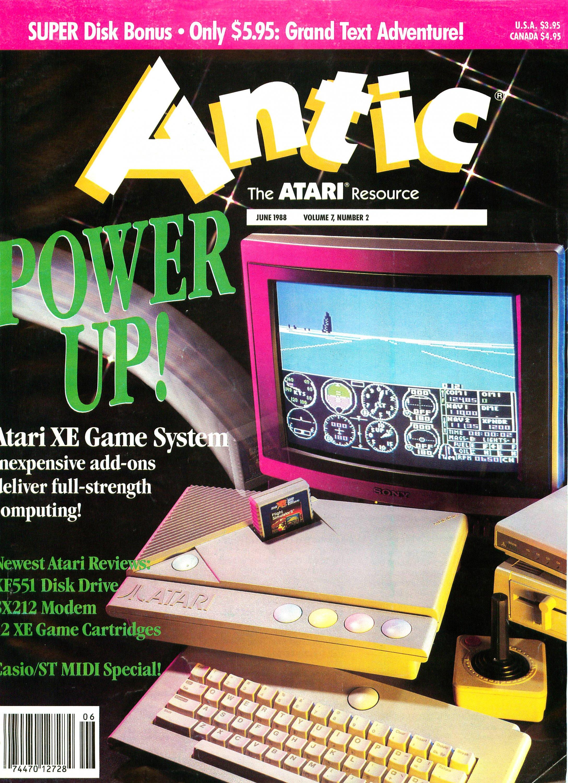 Antic Issue 068 June 1988
