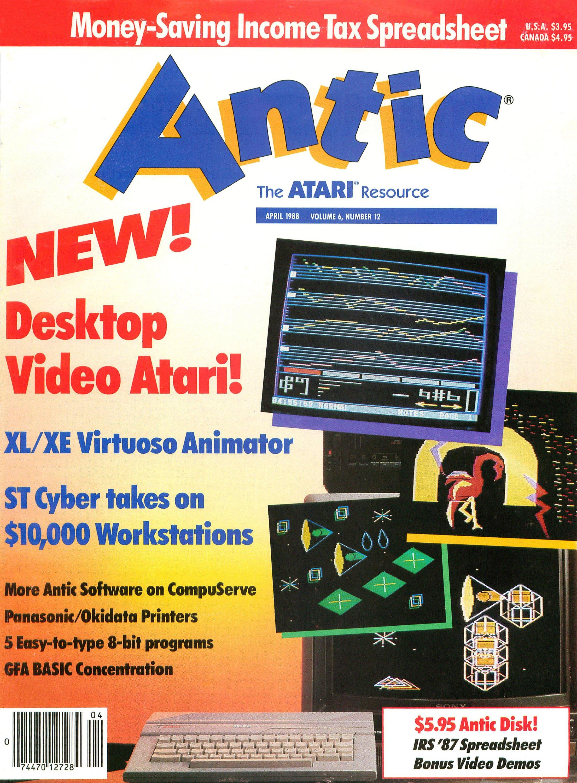 Antic Issue 066 April 1988