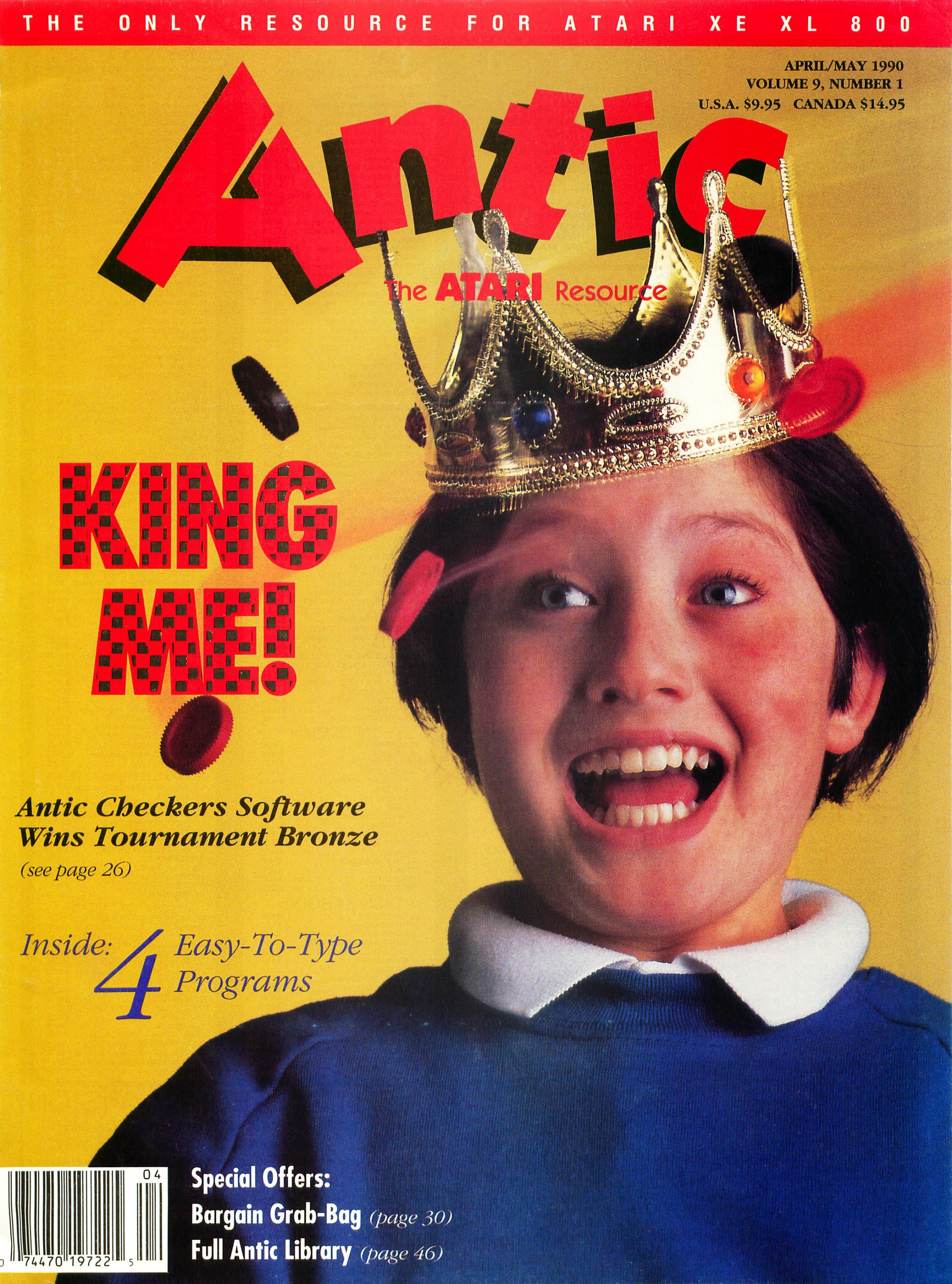 Antic Issue 087 April 1990 / May 1990
