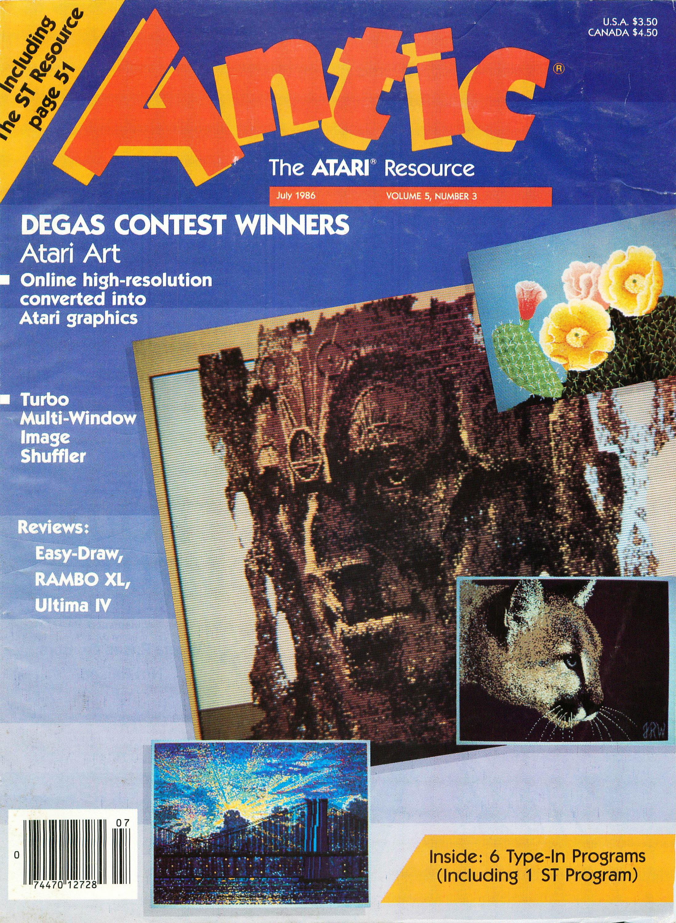 Antic Issue 045 July 1986