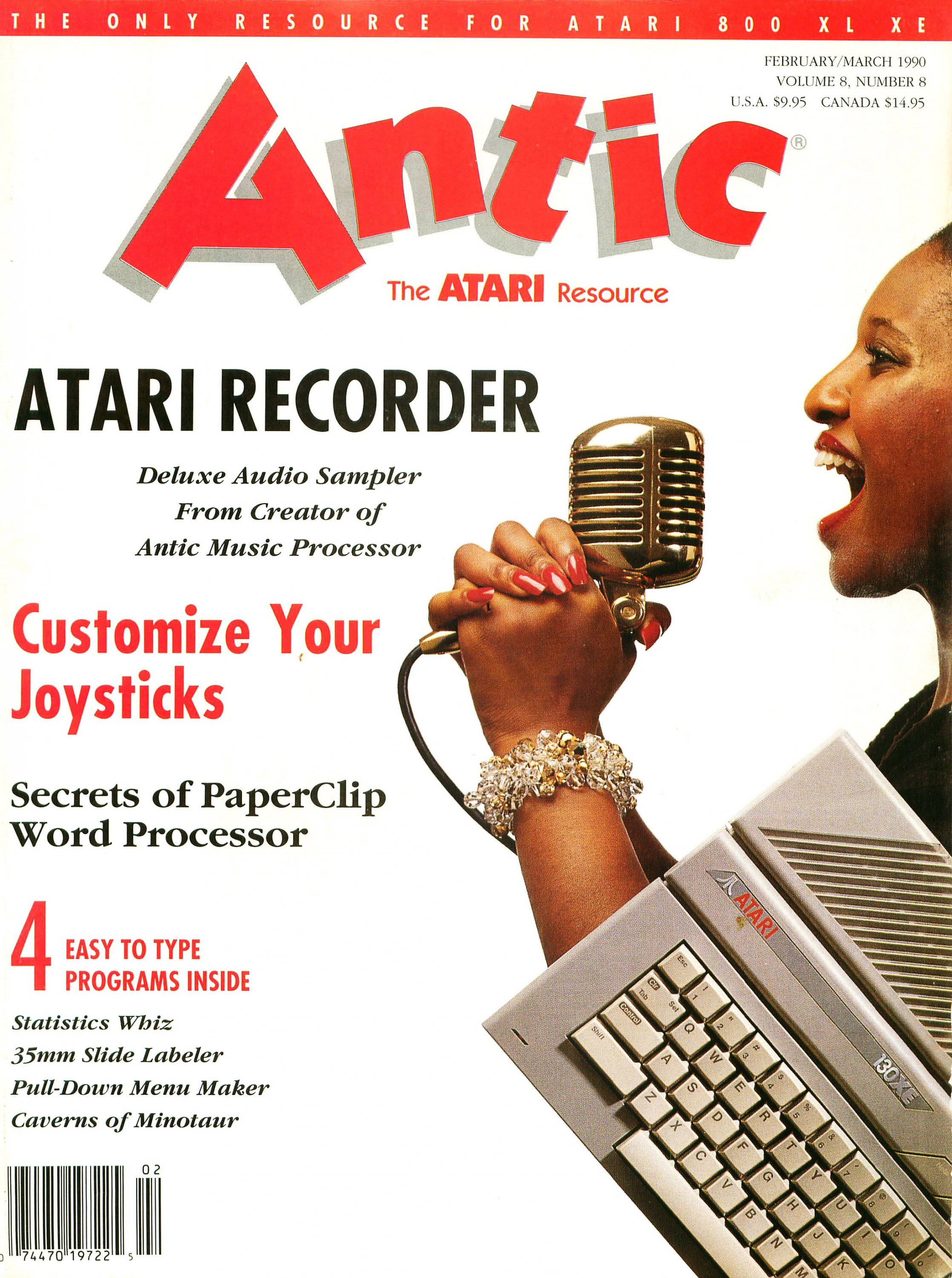 Antic Issue 086 February 1990 / March 1990