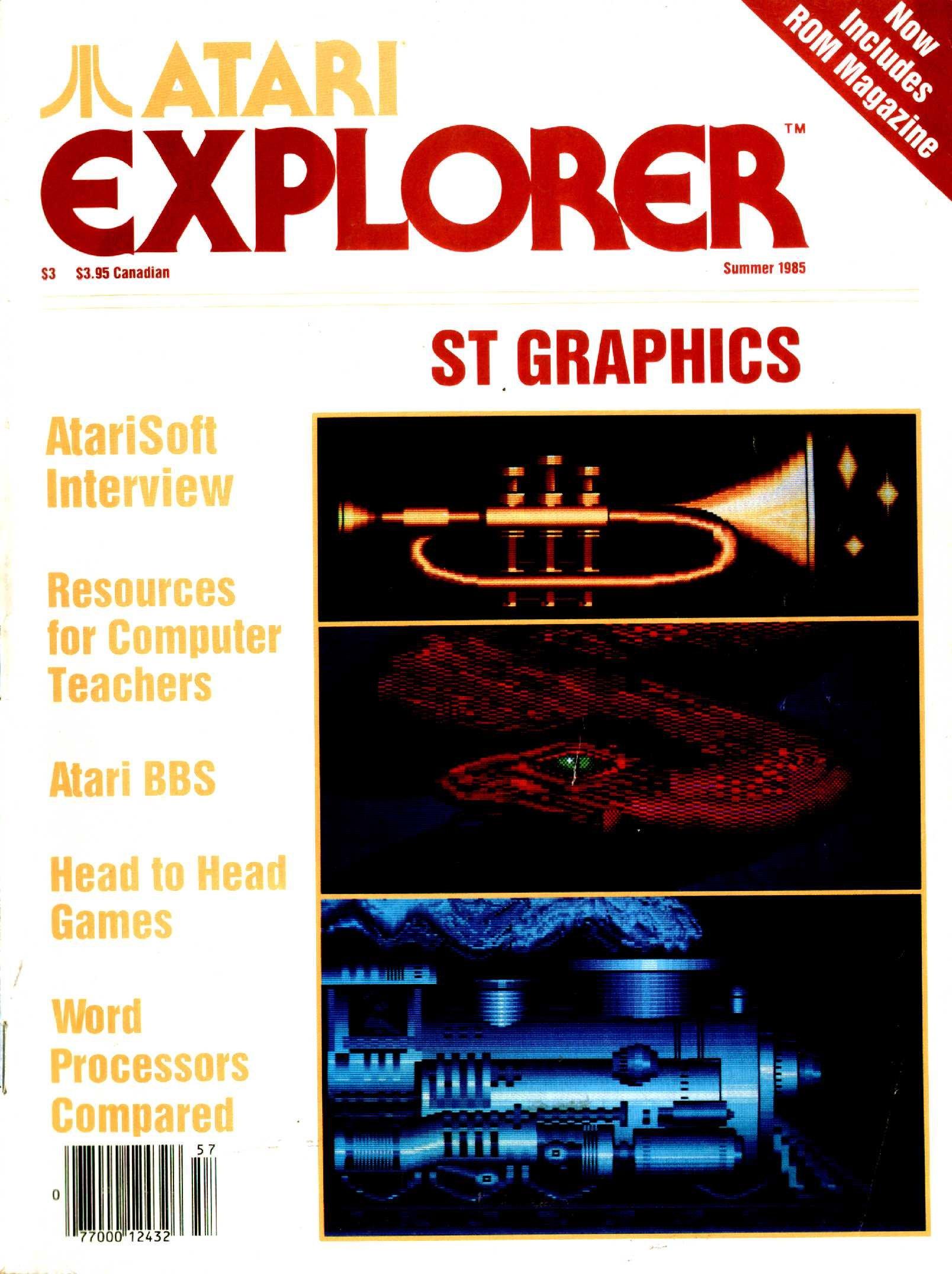 Atari Explorer Issue 02 (Summer 1985)
