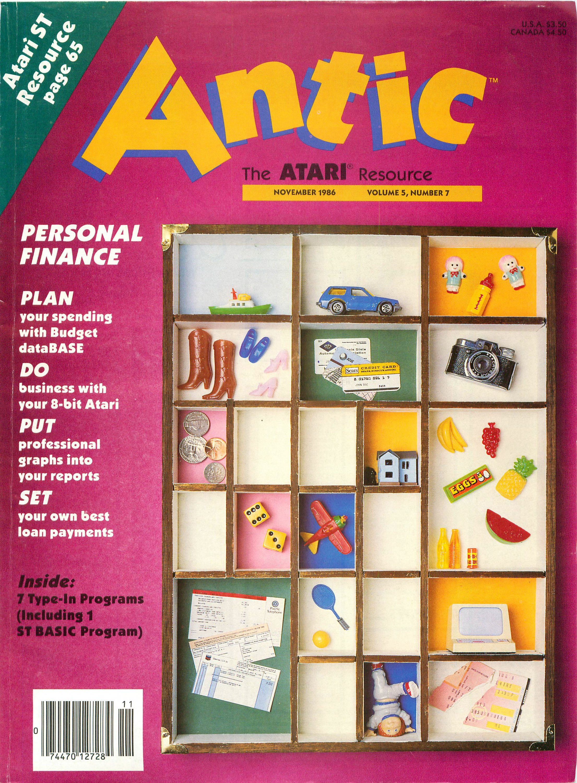 Antic Issue 049 November 1986