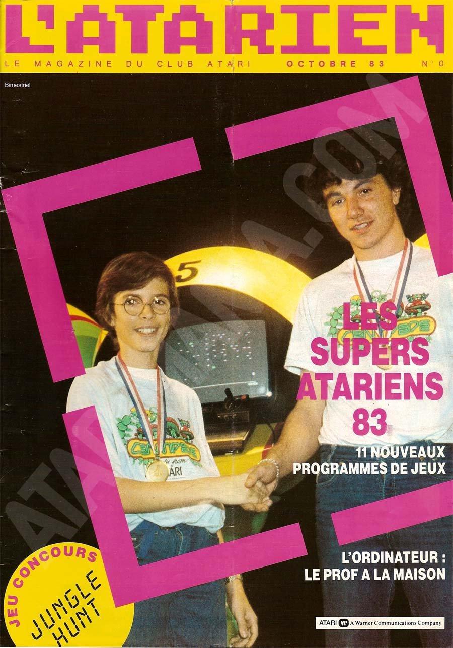 L'Atarien 0 (October 1983)