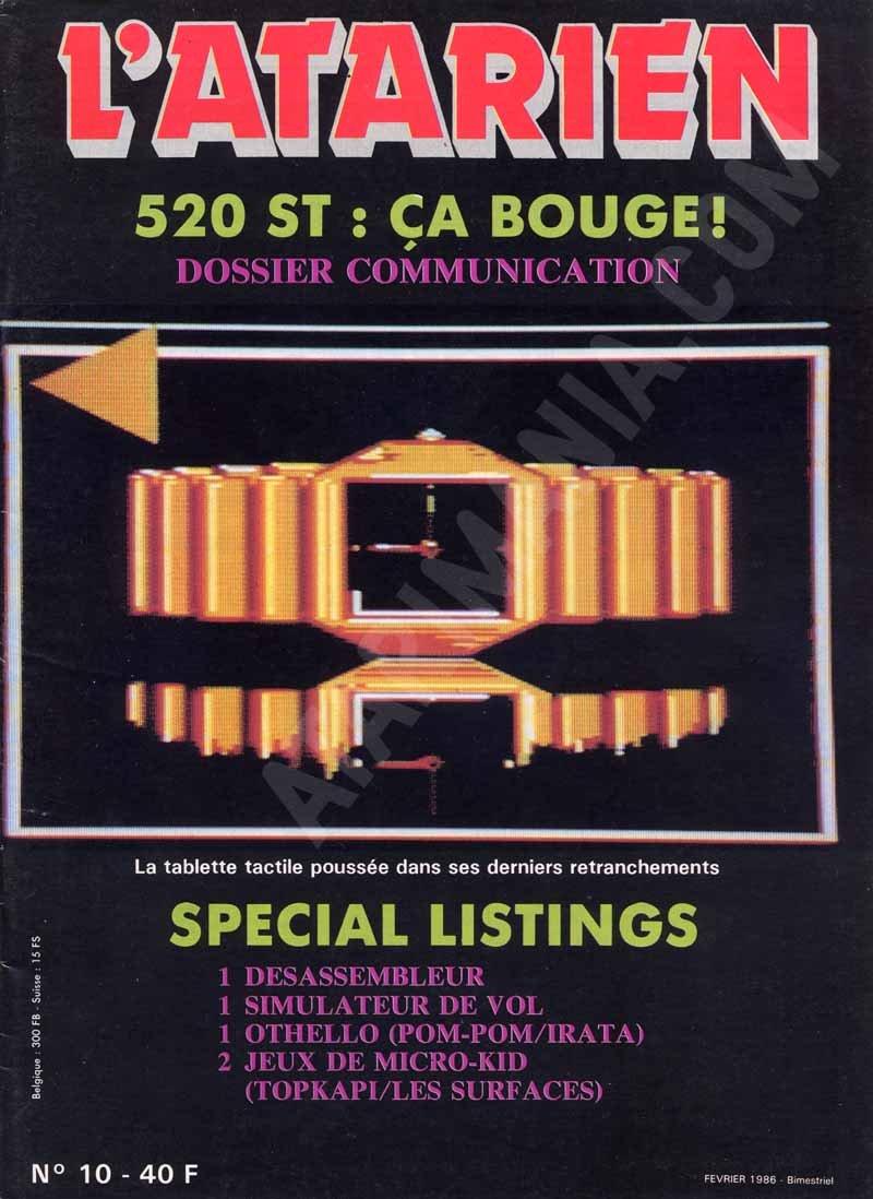 L'Atarien 10 (February 1986)
