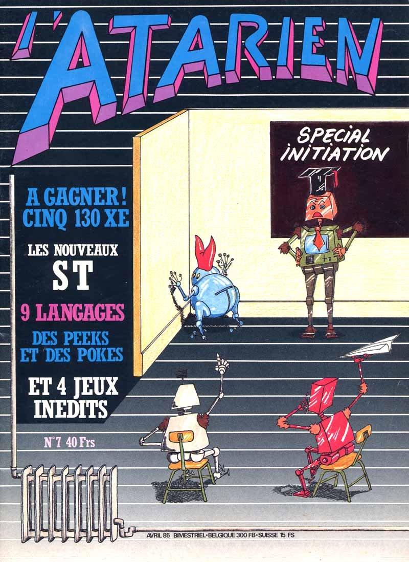 L'Atarien 07 (April 1985)