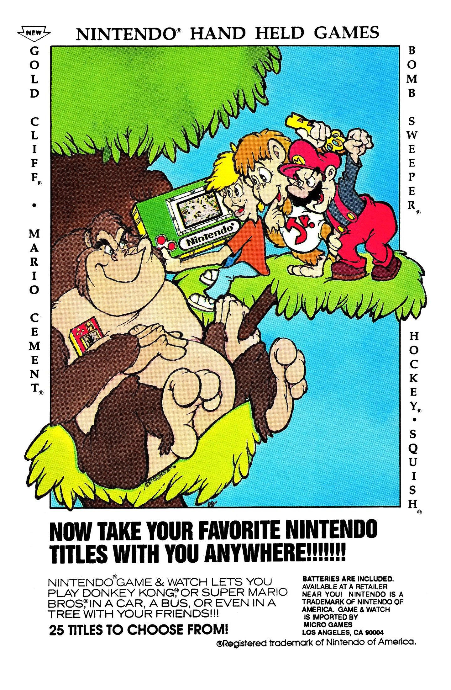 Game & Watch (25 game version)