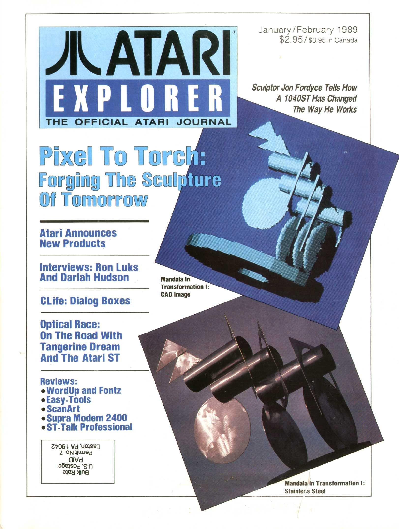 Atari Explorer Issue 18 (January / February 1989)