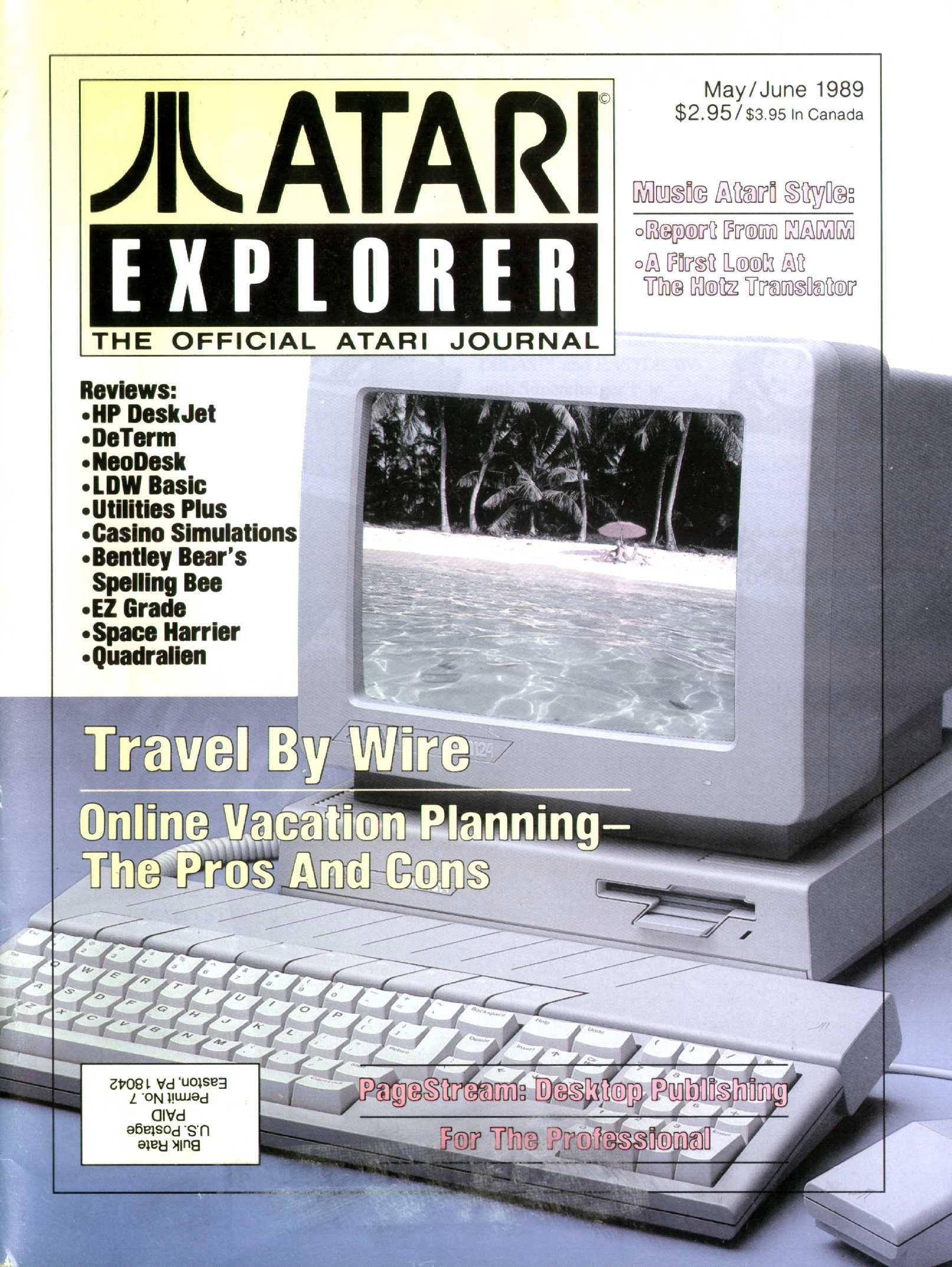 Atari Explorer Issue 20 (May / June 1989)