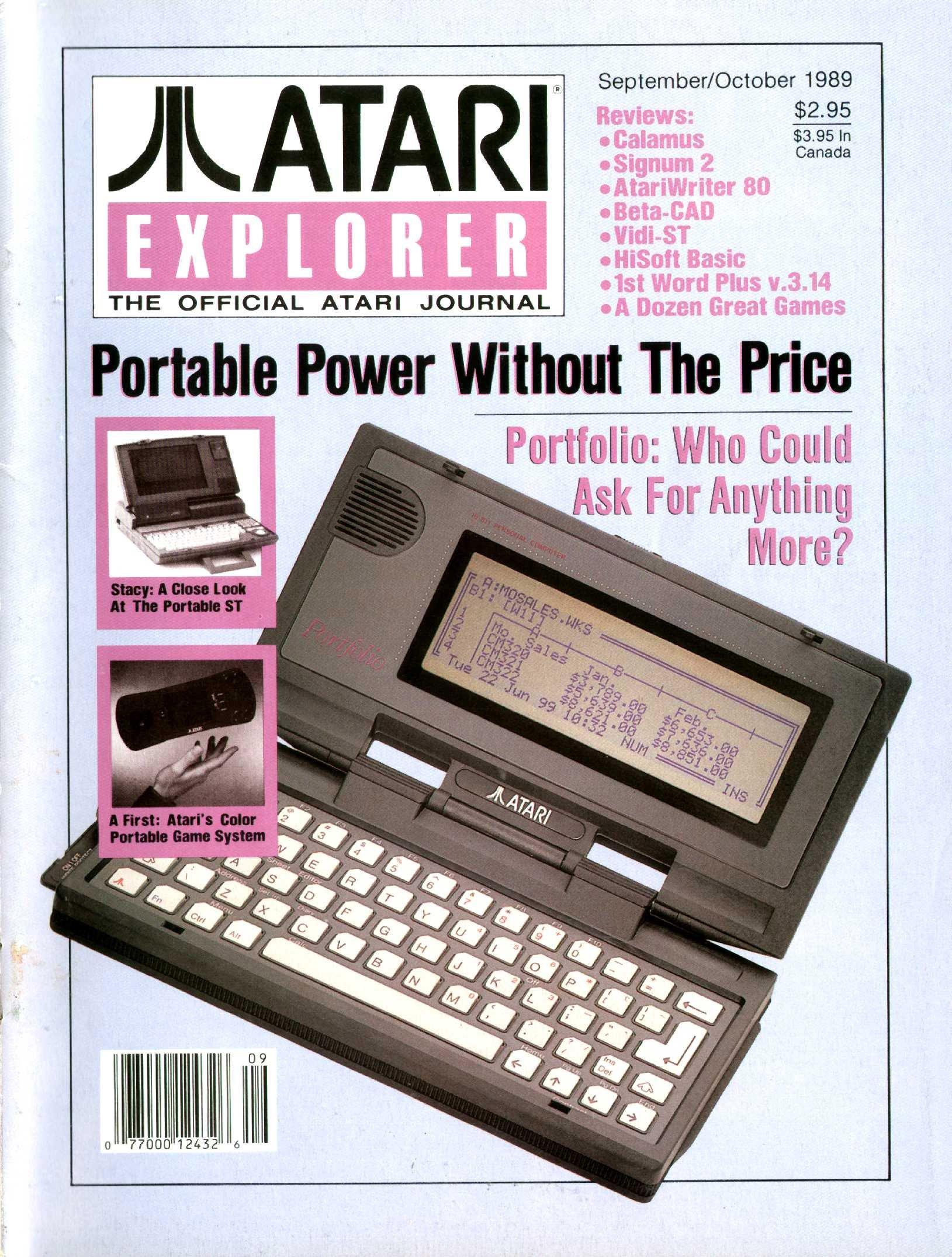 Atari Explorer Issue 22 (September / October 1989)