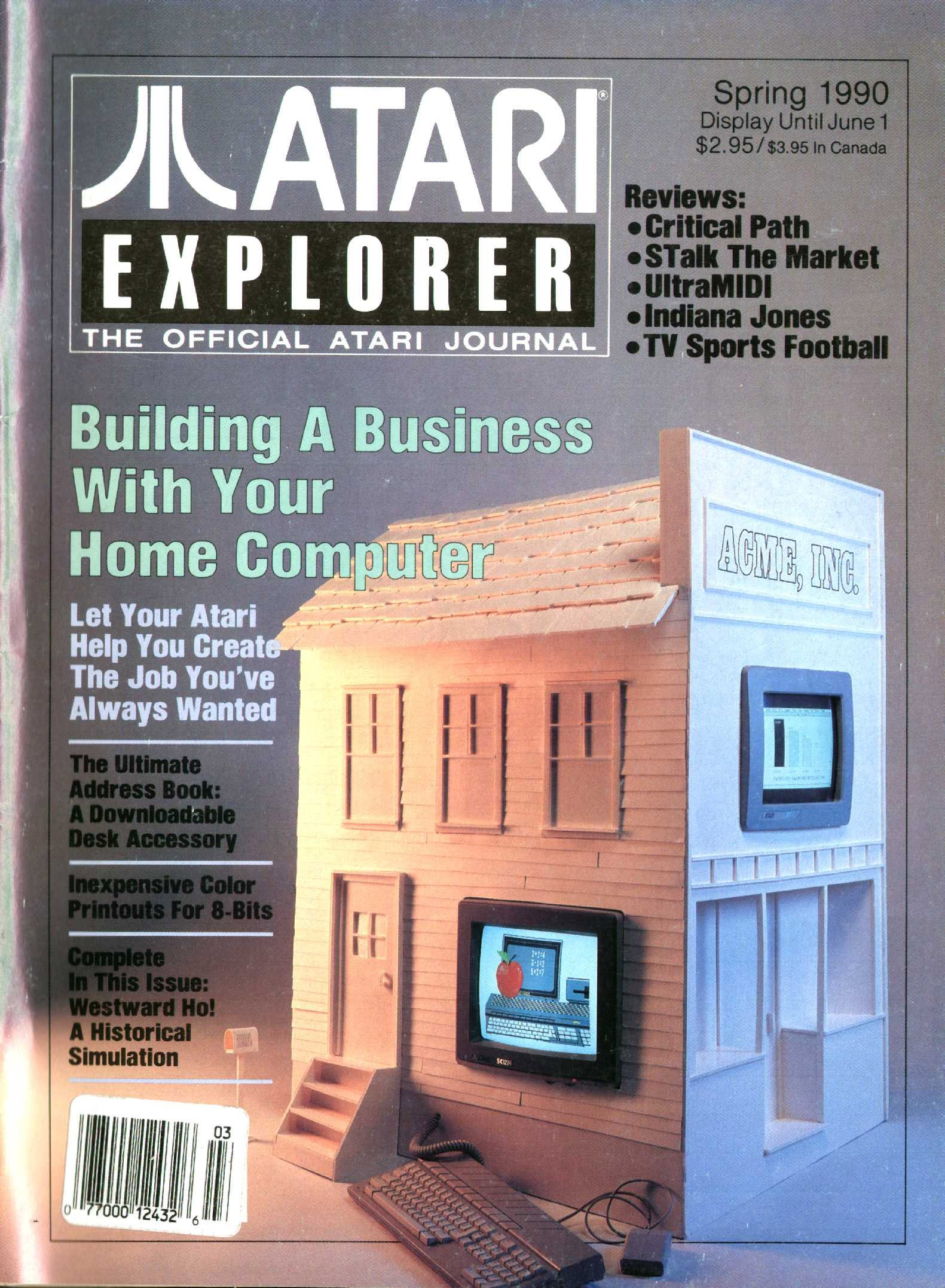 Atari Explorer Issue 25 (Spring 1990)