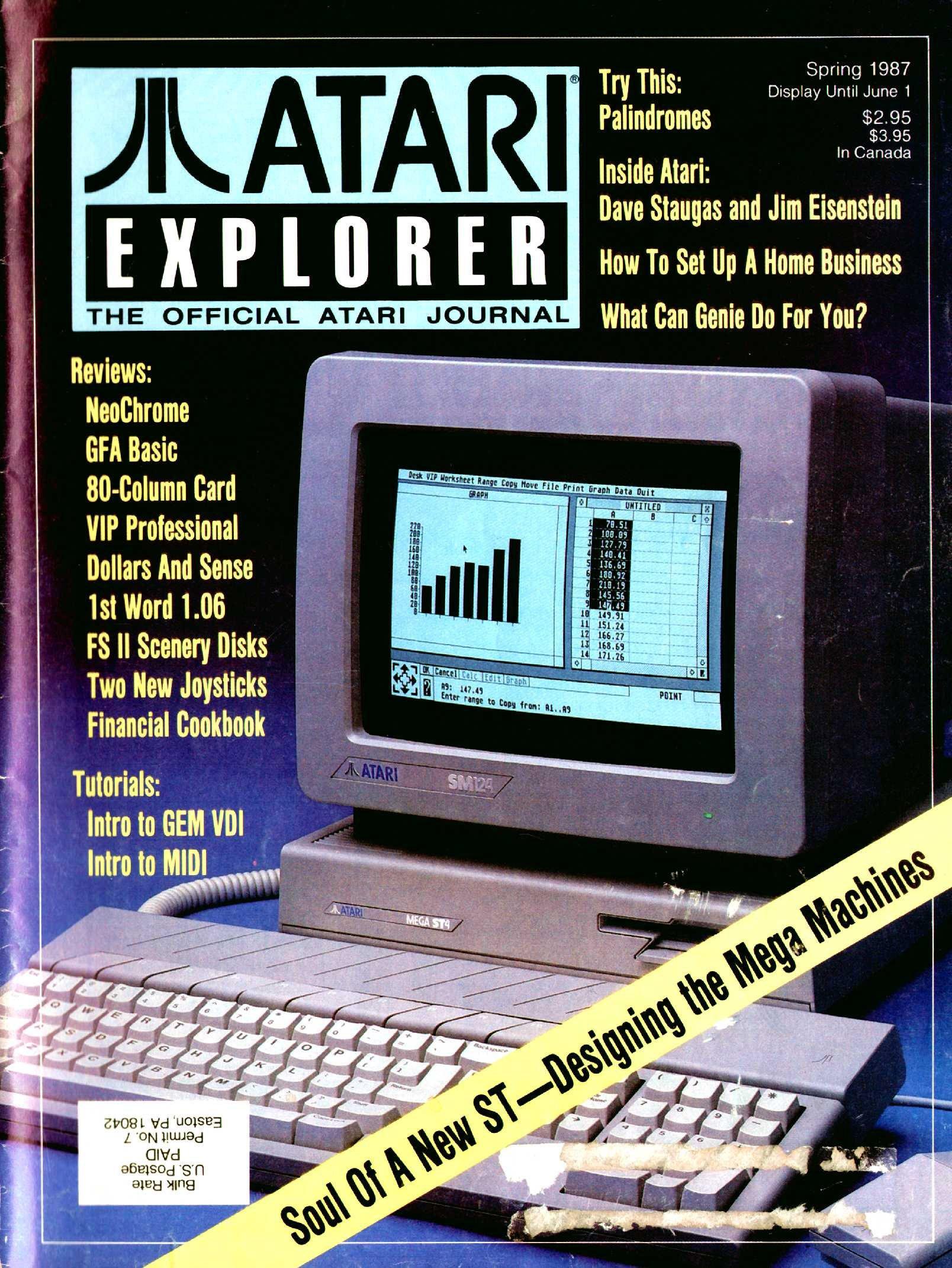 Atari Explorer Issue 08 (Spring 1987)