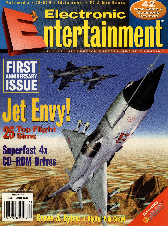 Electronic Entertainment Vol.2 No.01 (January 1995)
